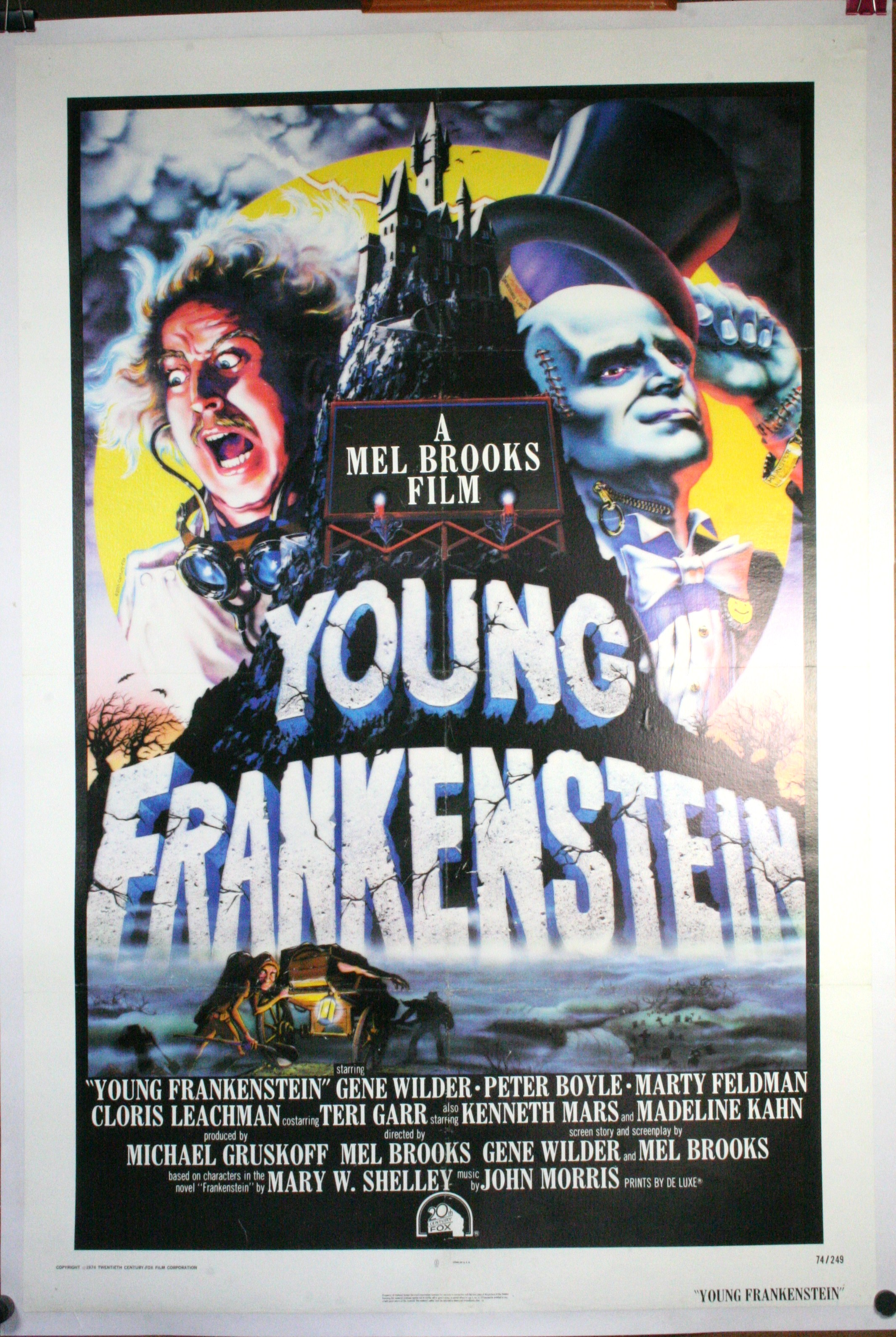Young Frankenstein, Original Vintage Film Poster - Original Vintage Movie Posters-4640