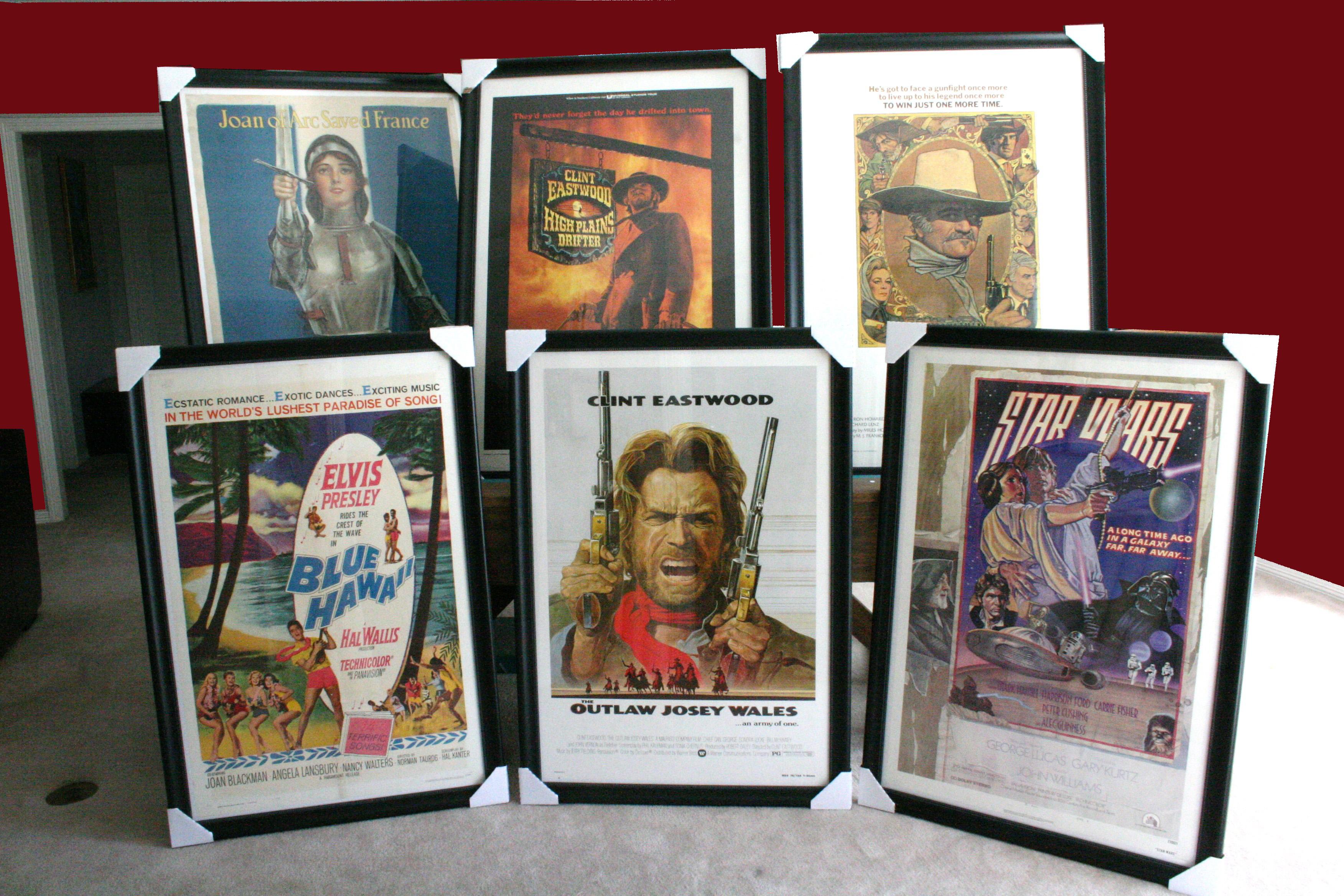we specialize in framing original vintage posters