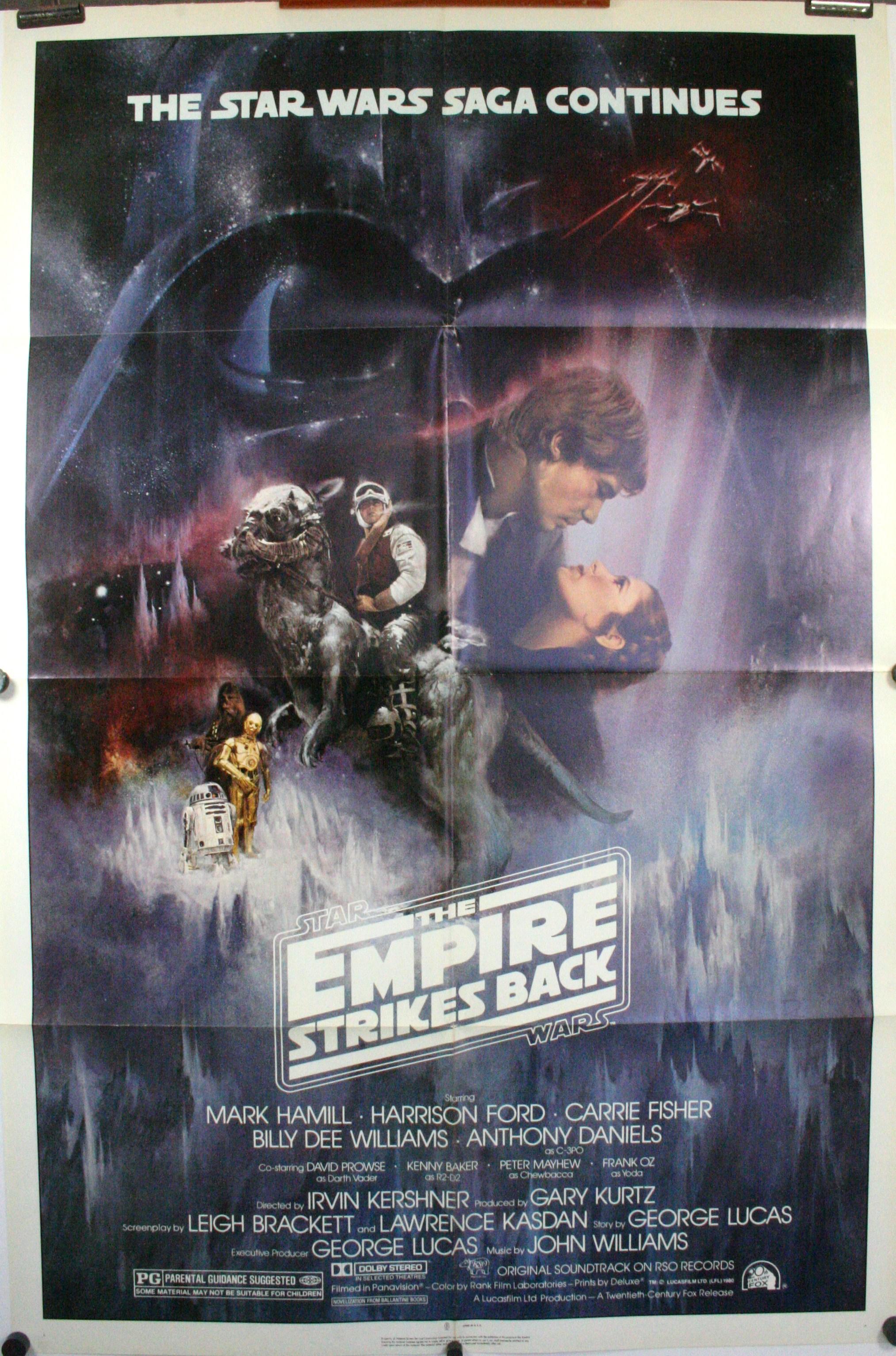 Star Wars: Episode V The Empire Strikes Back movie poster print 1980