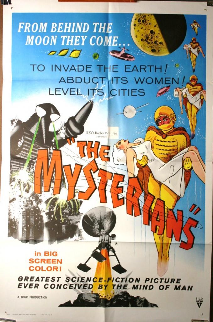 MYSTERIANS, RKO Original Vintage Movie Poster