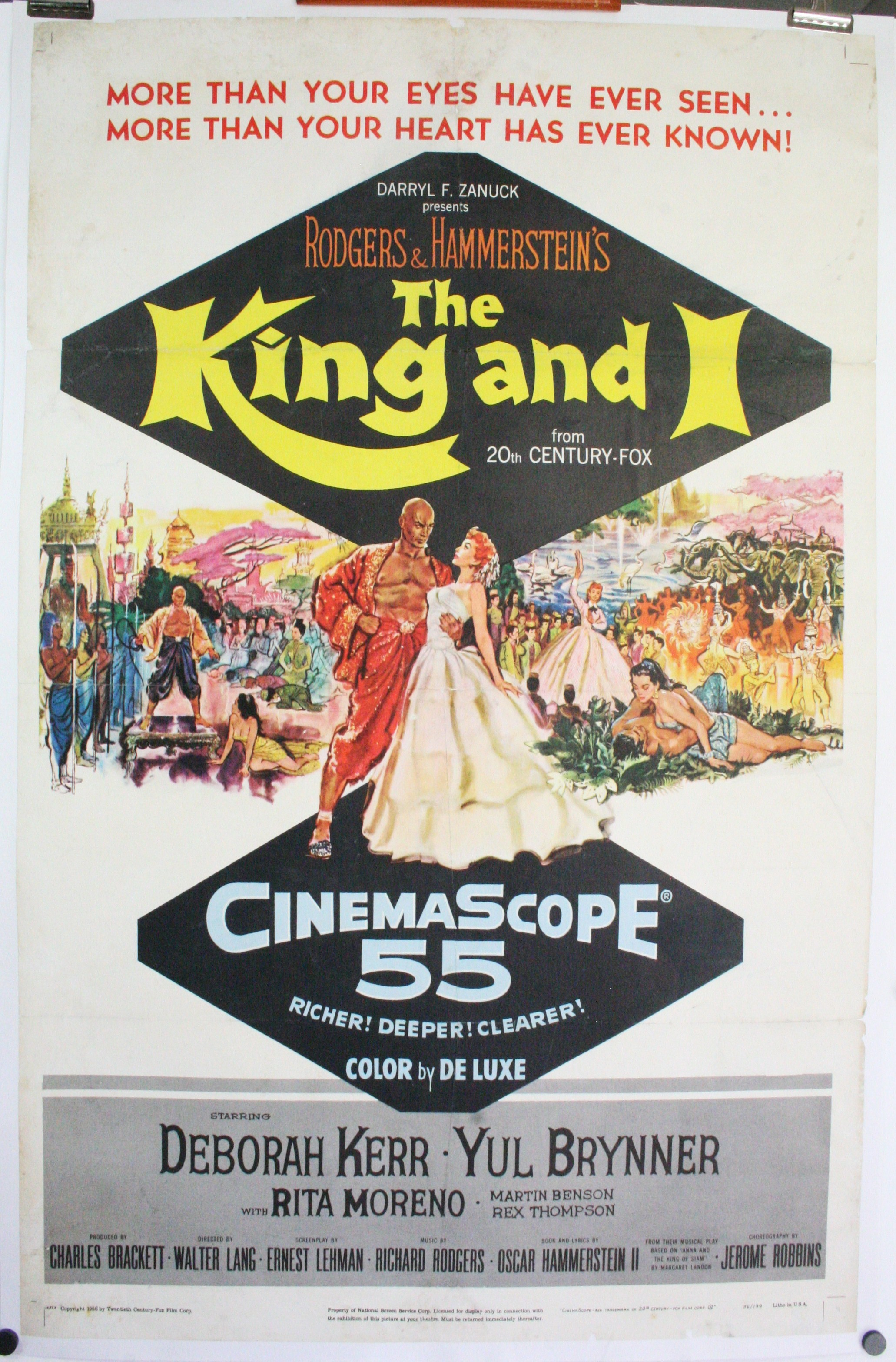 THE KING AND I, Original Rodgers and Hammerstein Musical