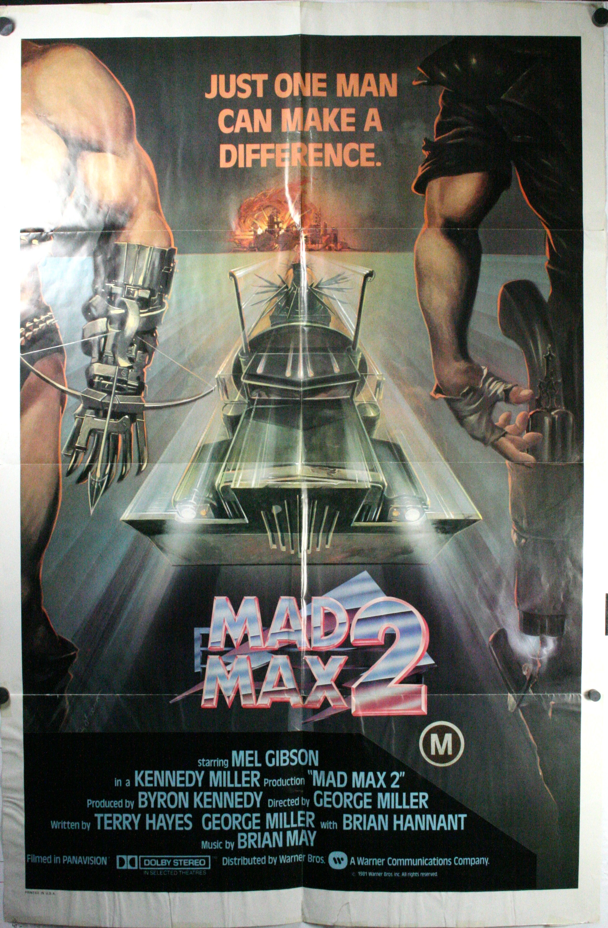mad max 2 the road warrior mel gibson george miller original movie