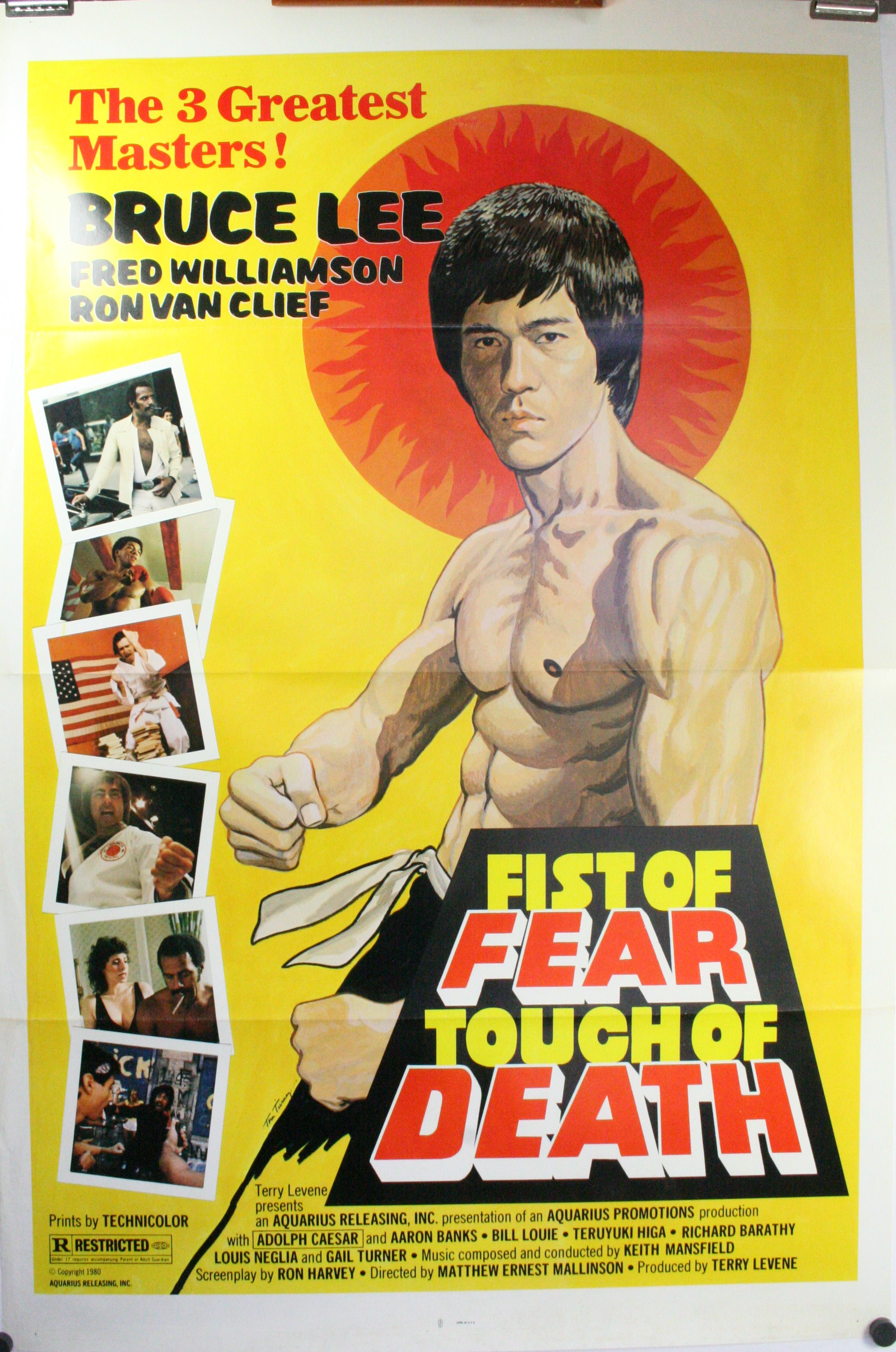 fist of fear touch of death bruce lee fred williamson