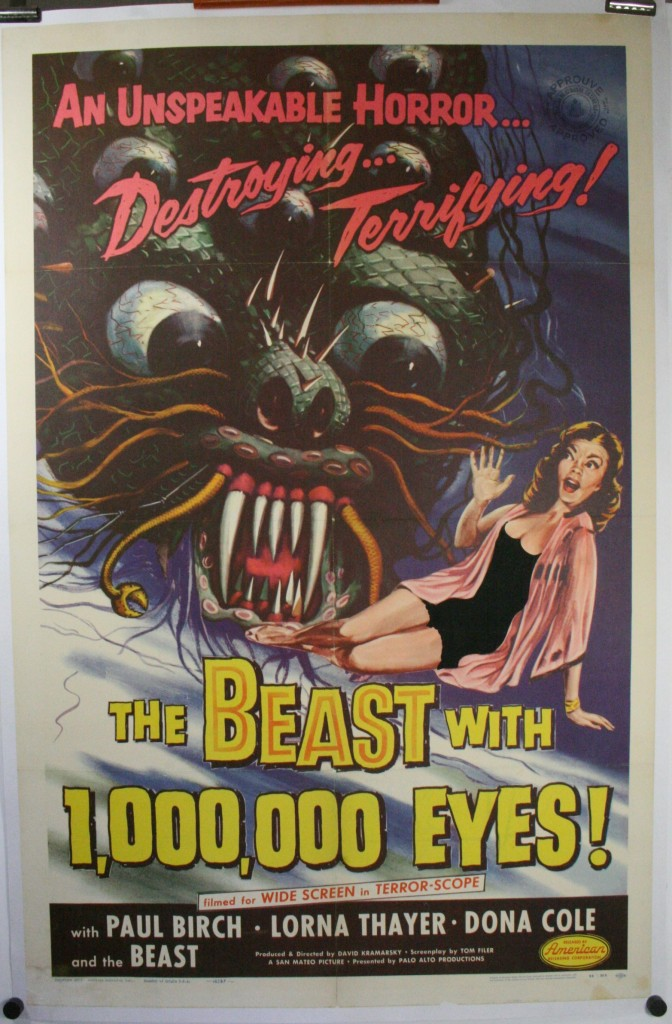 Beast with a million eyes LB