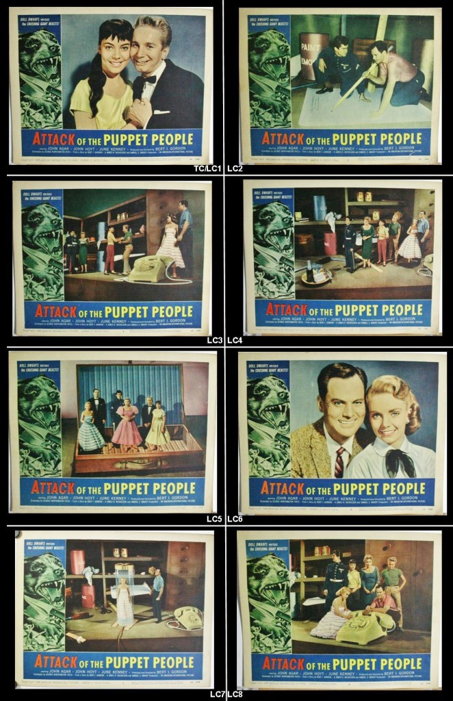 Attack of the puppet people Set