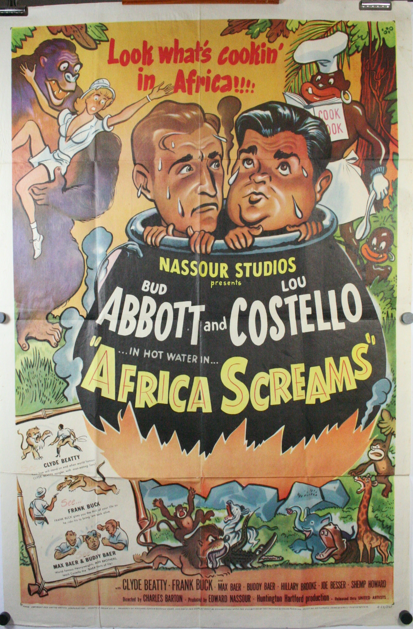 Africa screams abbott and costello original 1940s comedy for Movie photos for sale