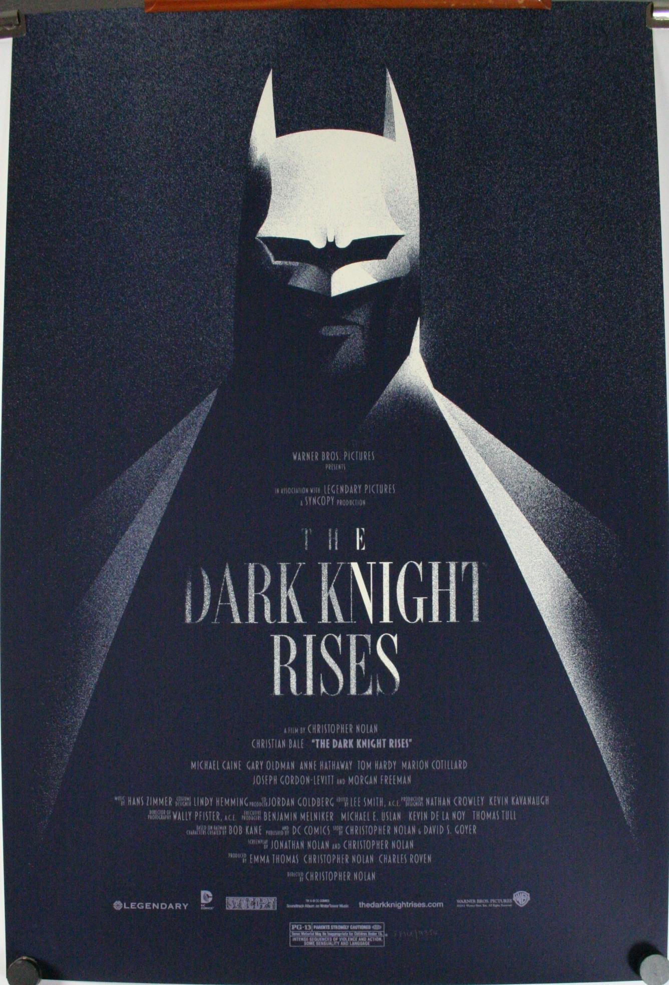 DARK KNIGHT RISES, Ori... Christian Bale Batman