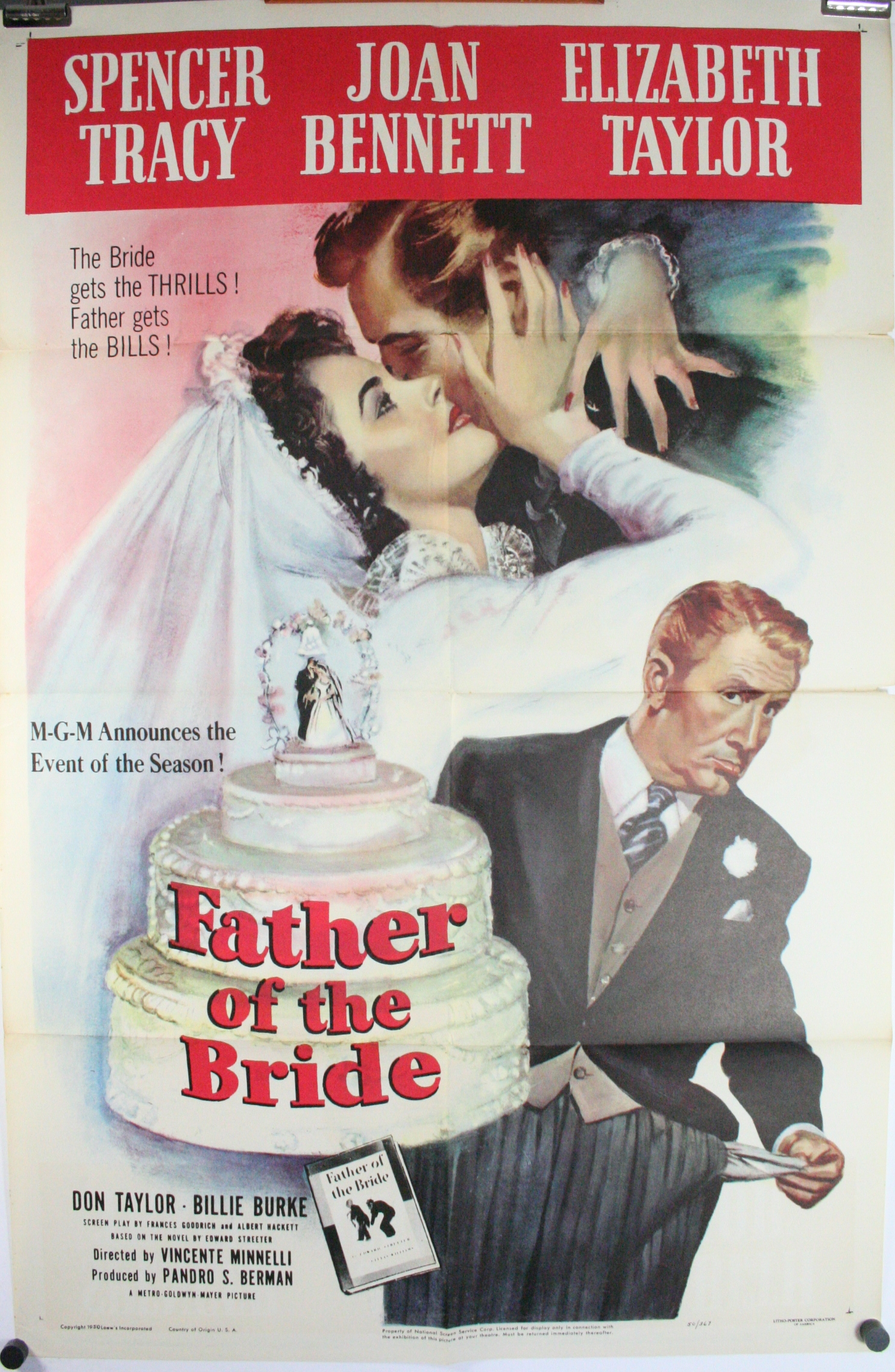 Father Of The Bride Original Elizabeth Taylor Classic 1
