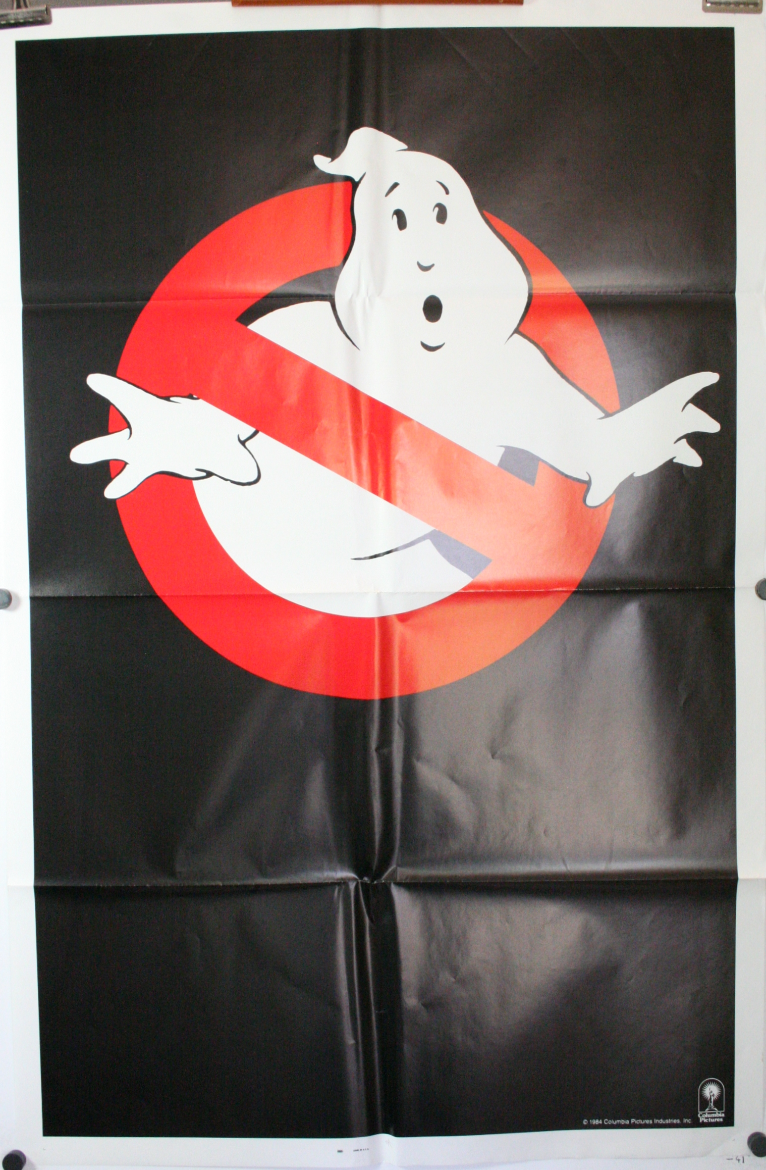 Ghostbusters Original Advance Teaser Movie Theater Poster For Sale