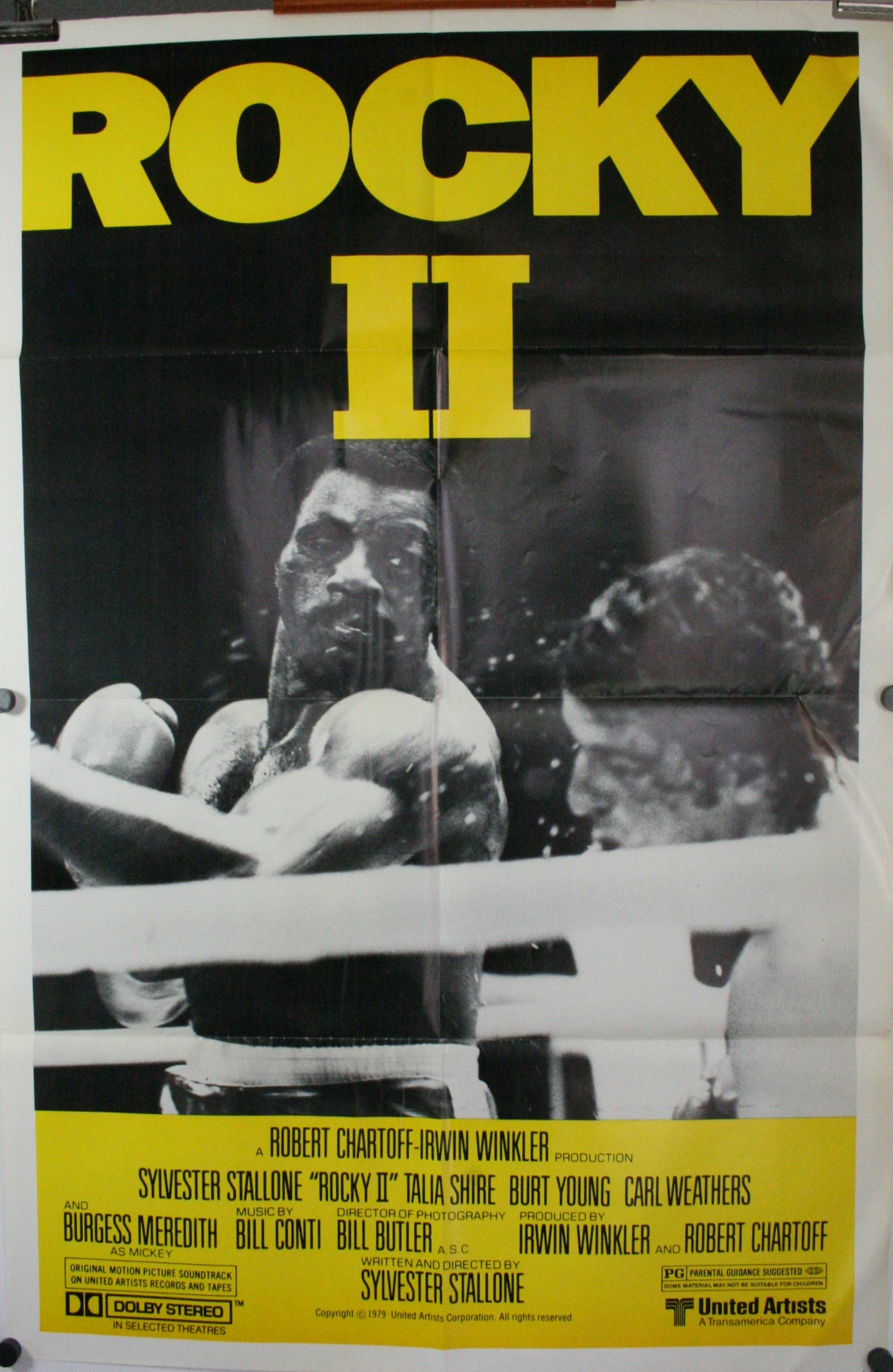 ROCKY II ( 2 ), Original Classic Sylvester Stallone Boxing ...