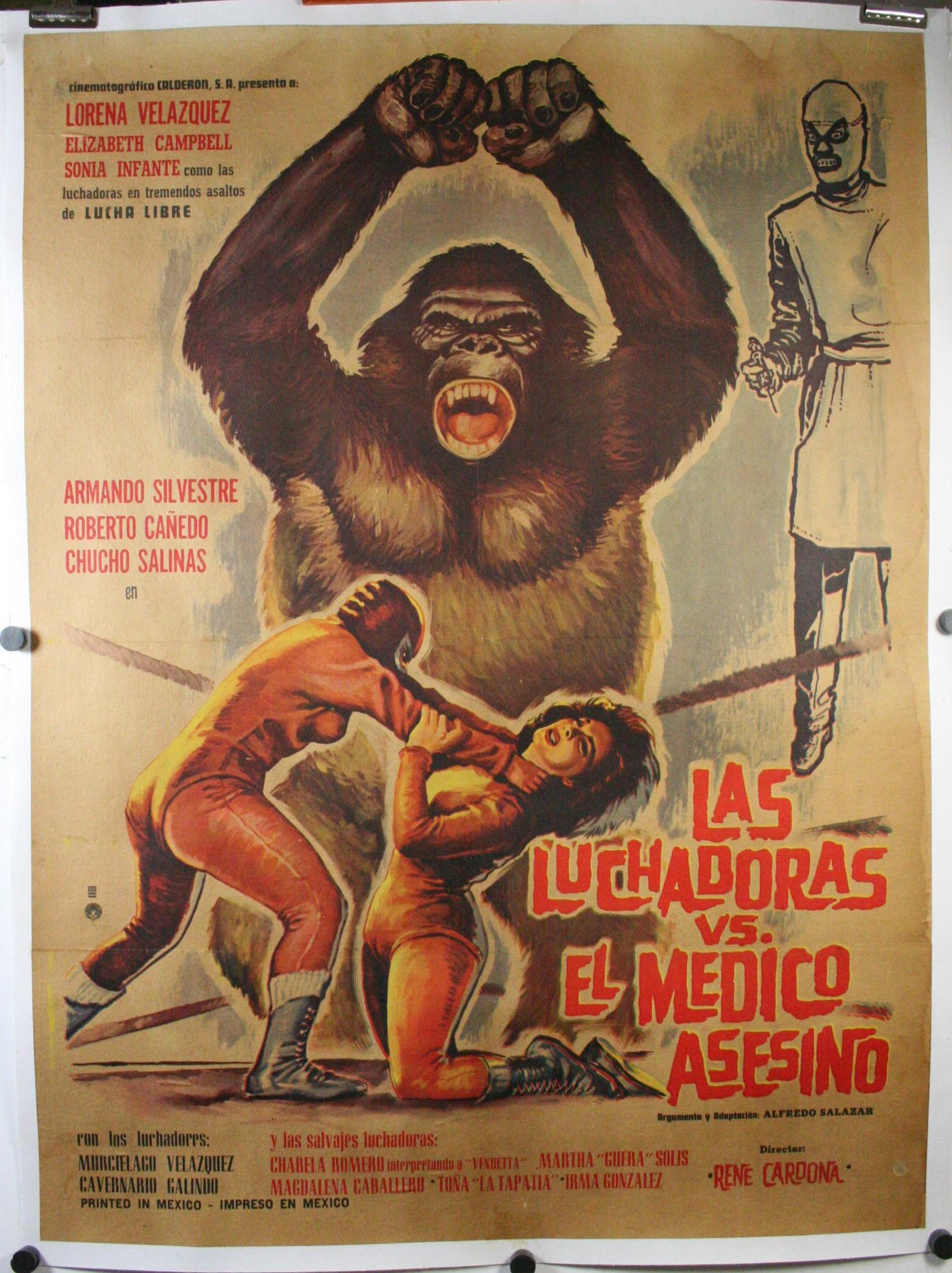 las luchadoras vs el medico asesino original mexican