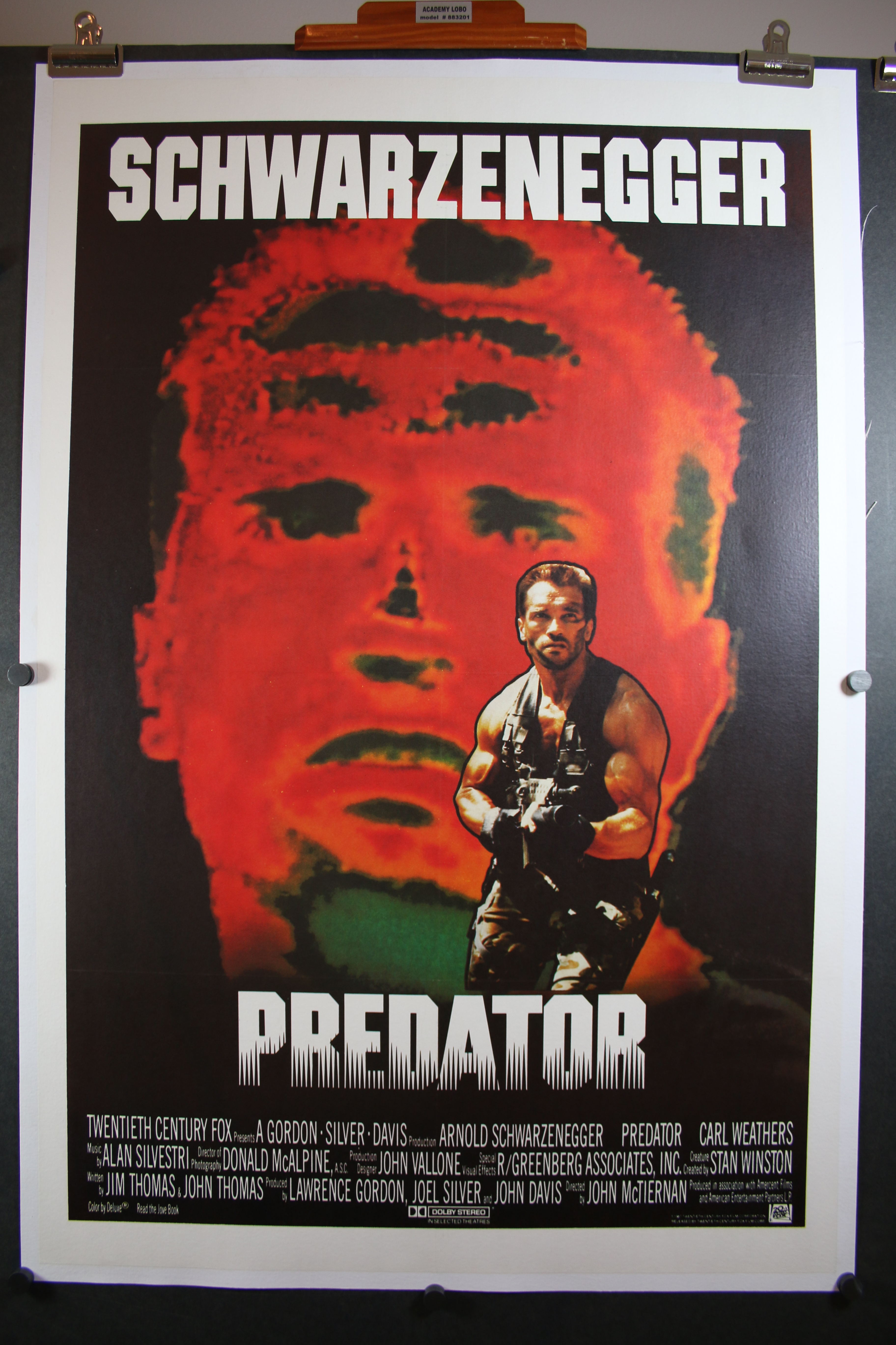 predator original int�l international folded 1 sheet