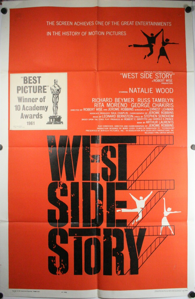 west side story original preawards style saul bass movie