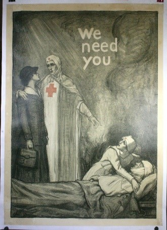 WW1 Poster Post-Restoration