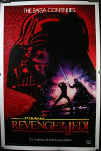 "Star Wars ""Revenge of the Jedi"""