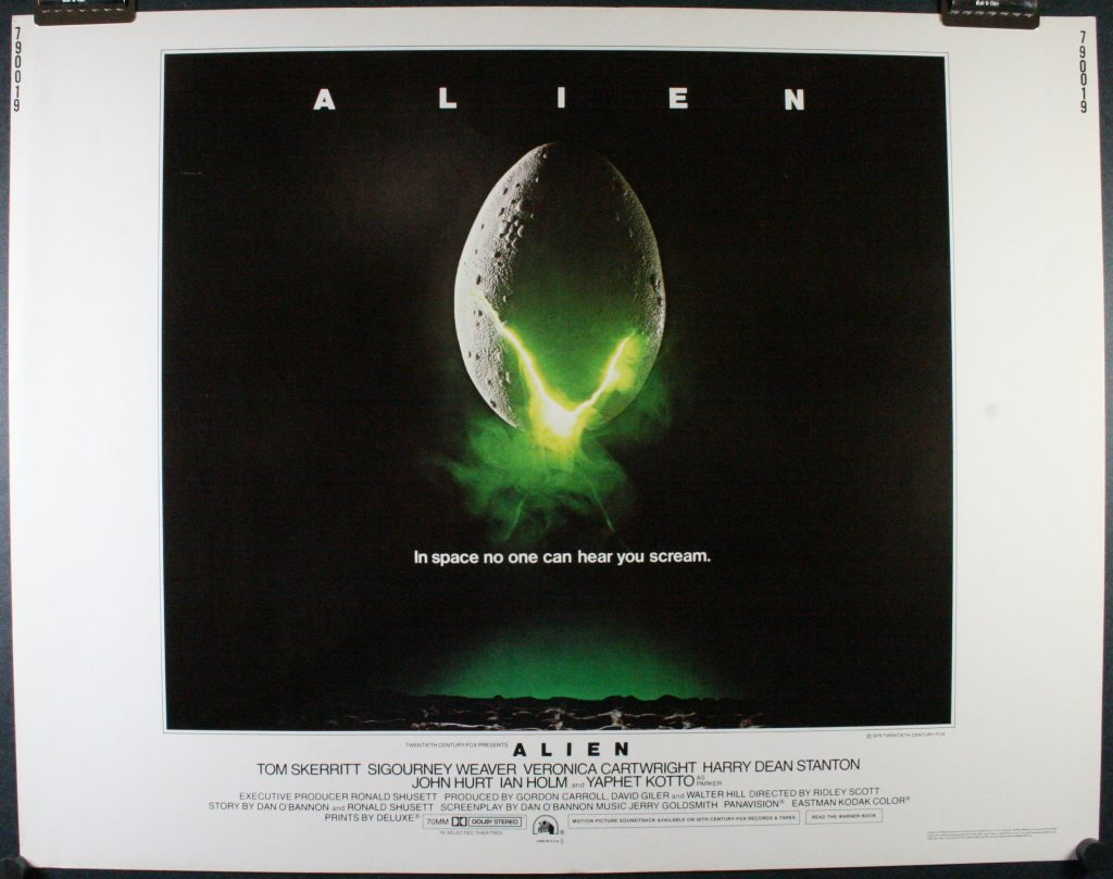 alien movie poster original - photo #6