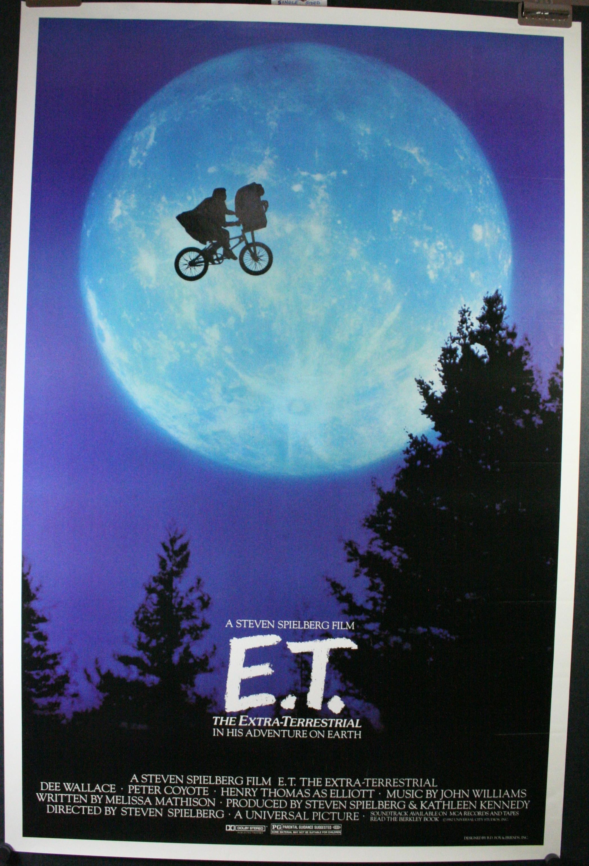 E.T. THE EXTRA TERRESTRIAL, Original ET Bike Over the Moon ...