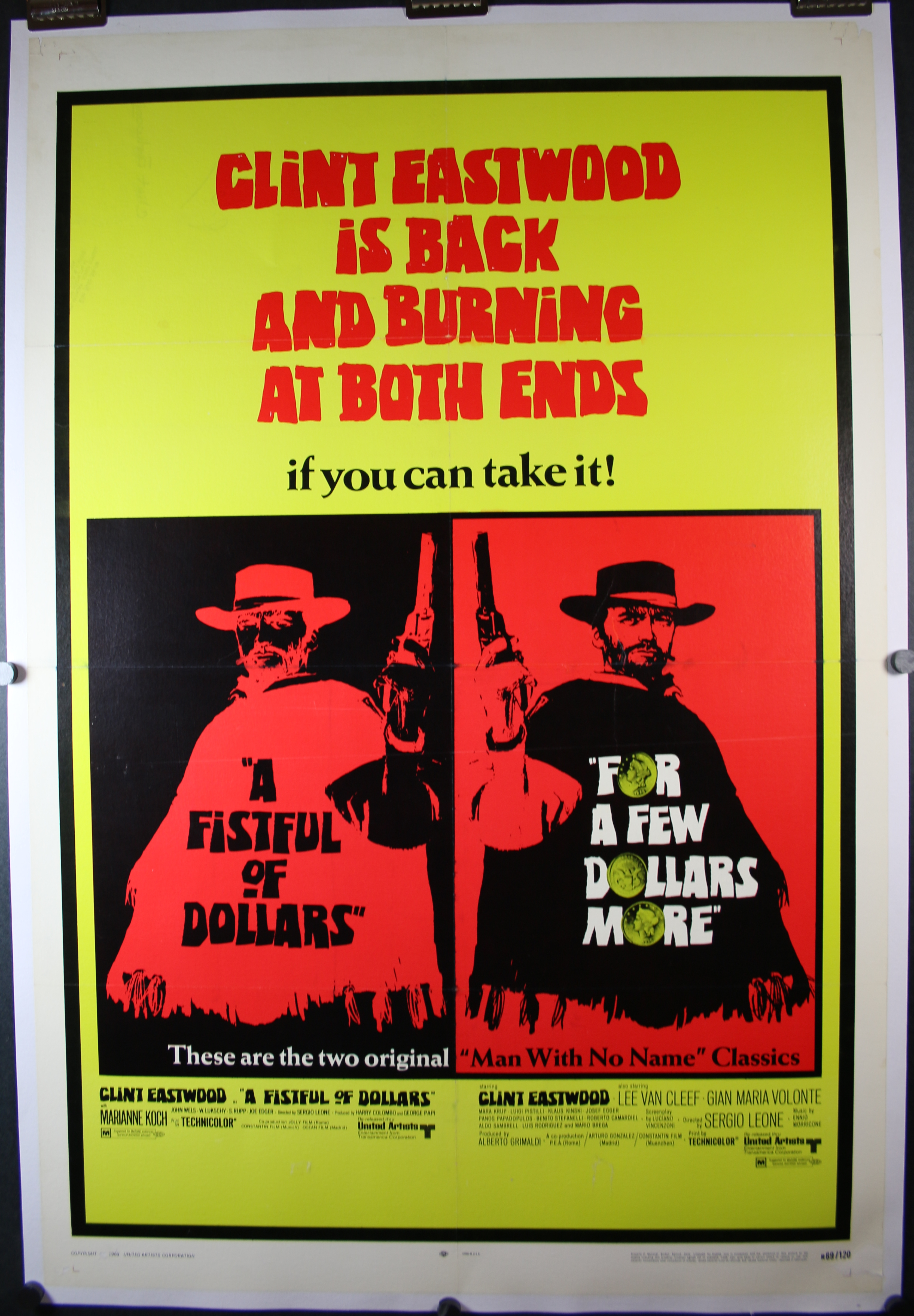 Fistful of dollars Few Dollars More 4080 LB