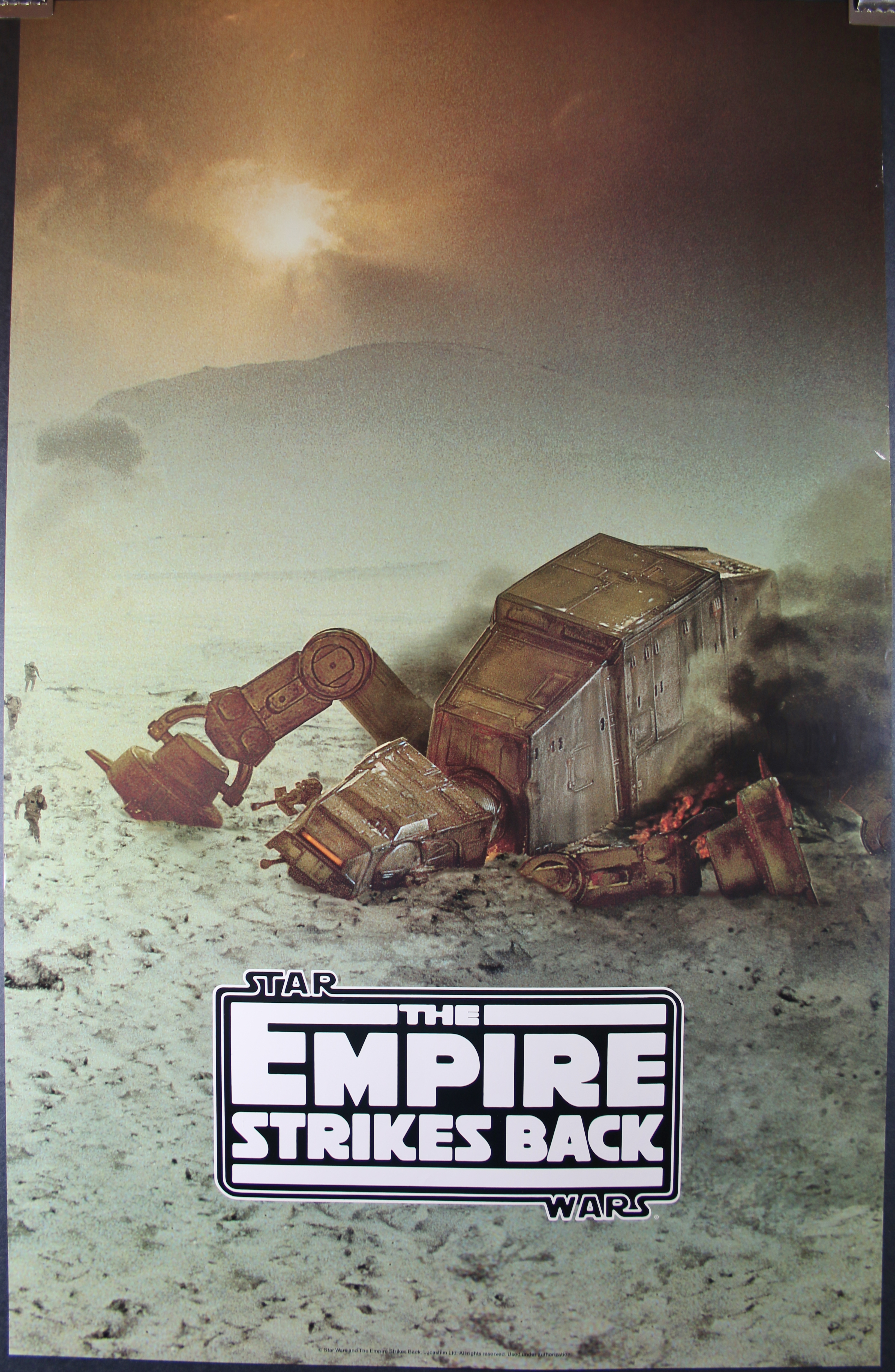 EMPIRE STRIKES BACK, Original Wrecked Walker Commercial