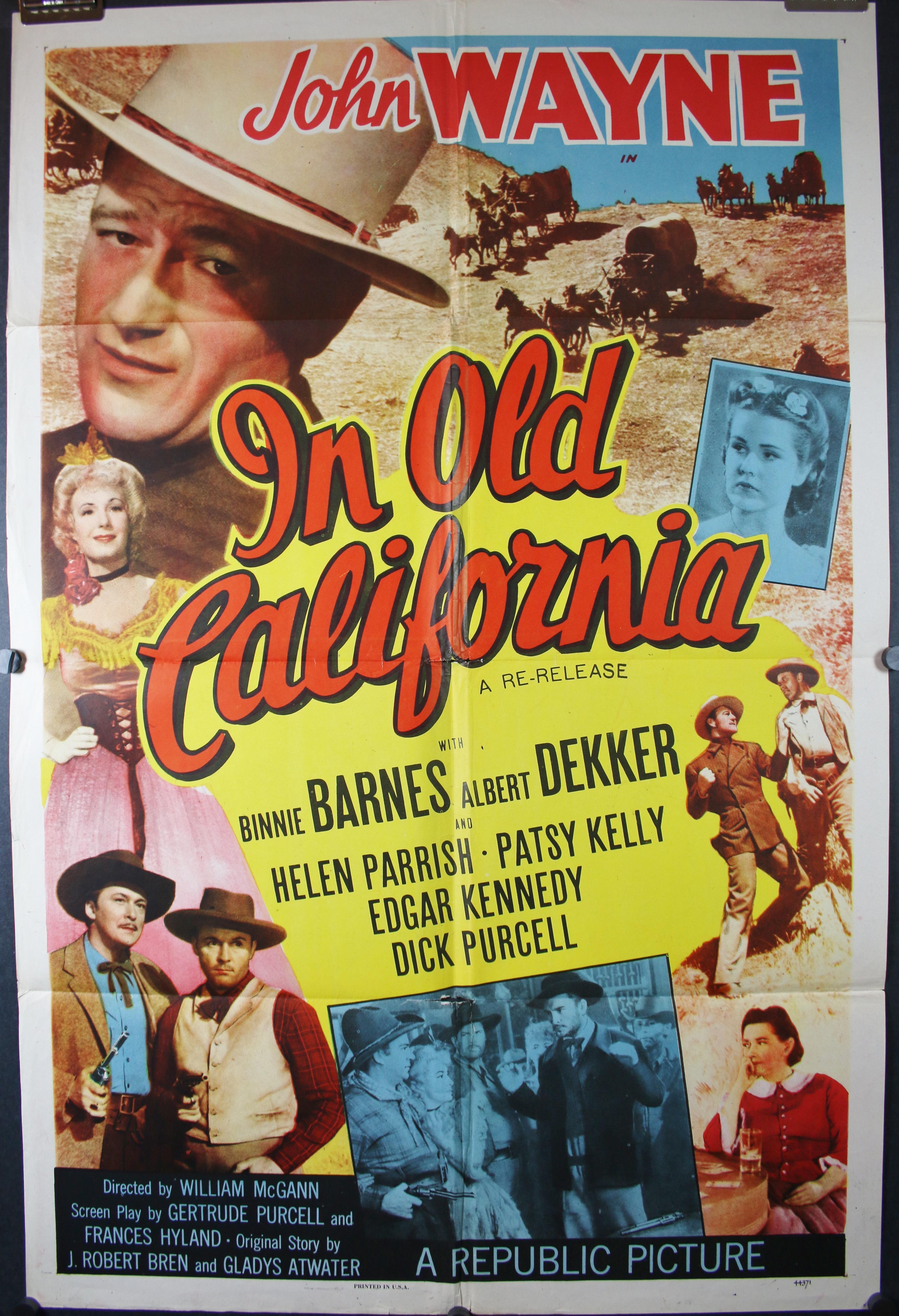 In old California 4441