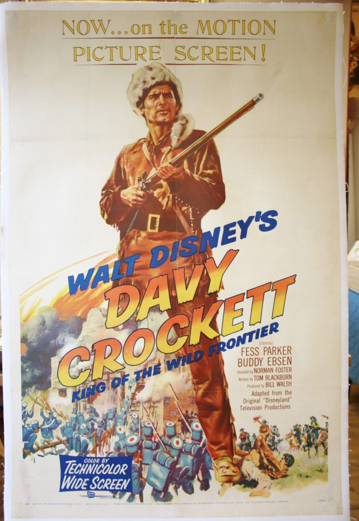 Davy Crockett King of the Wild Frontier 3690 LB