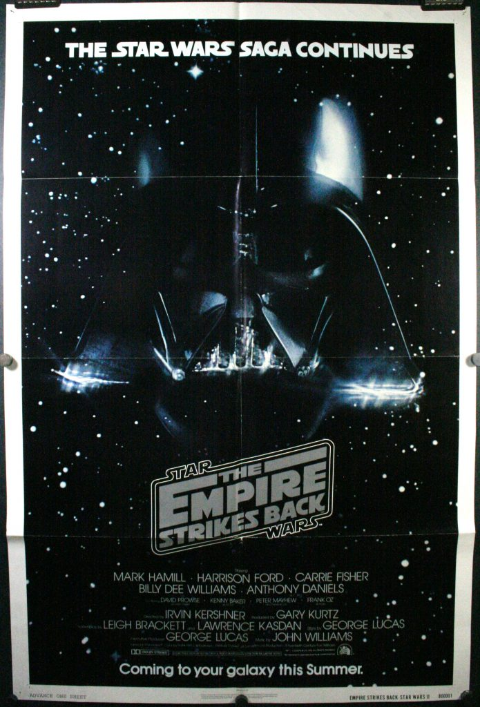 star wars the empire strikes back original advance