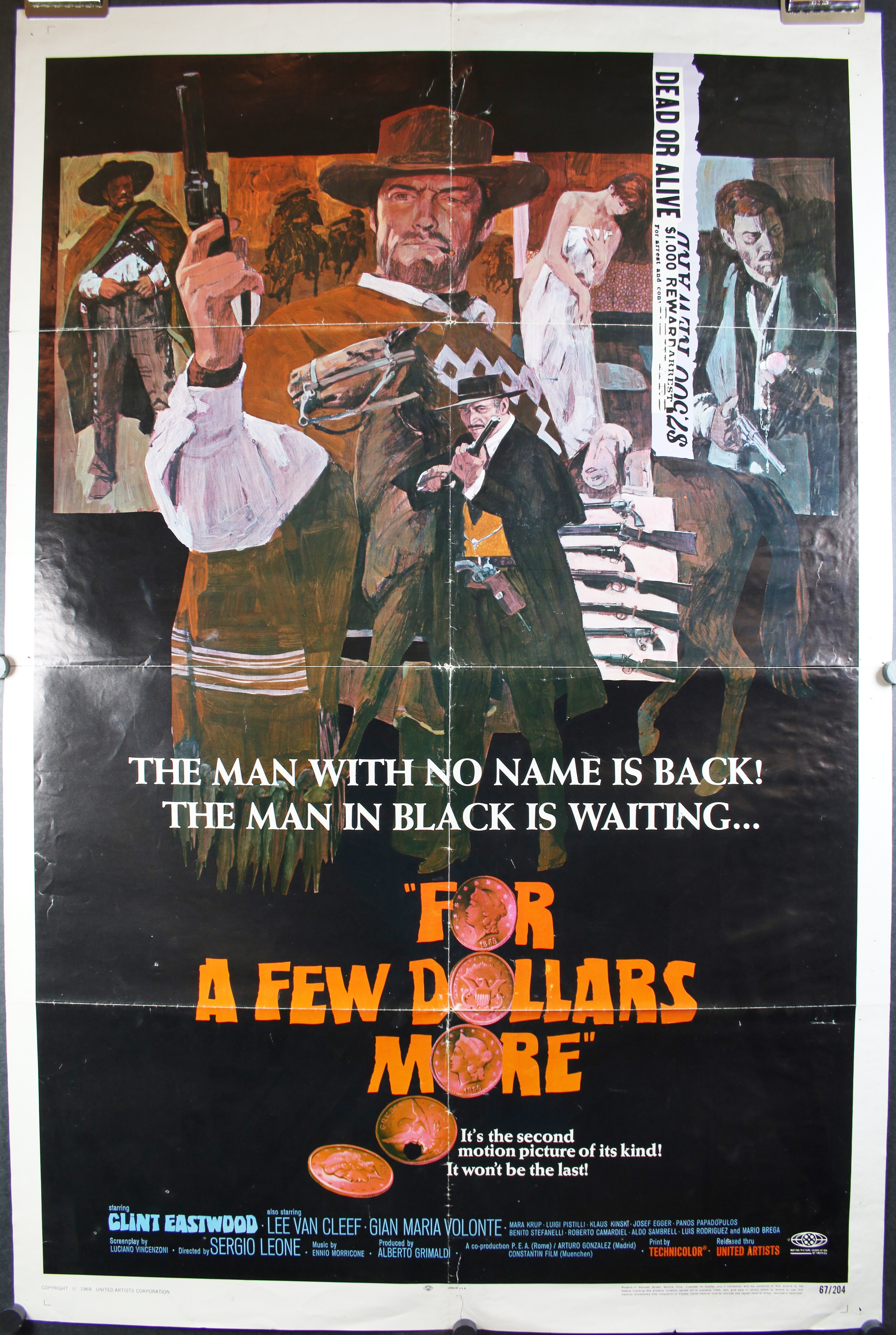 For a few dollars more item 1 movie poster print