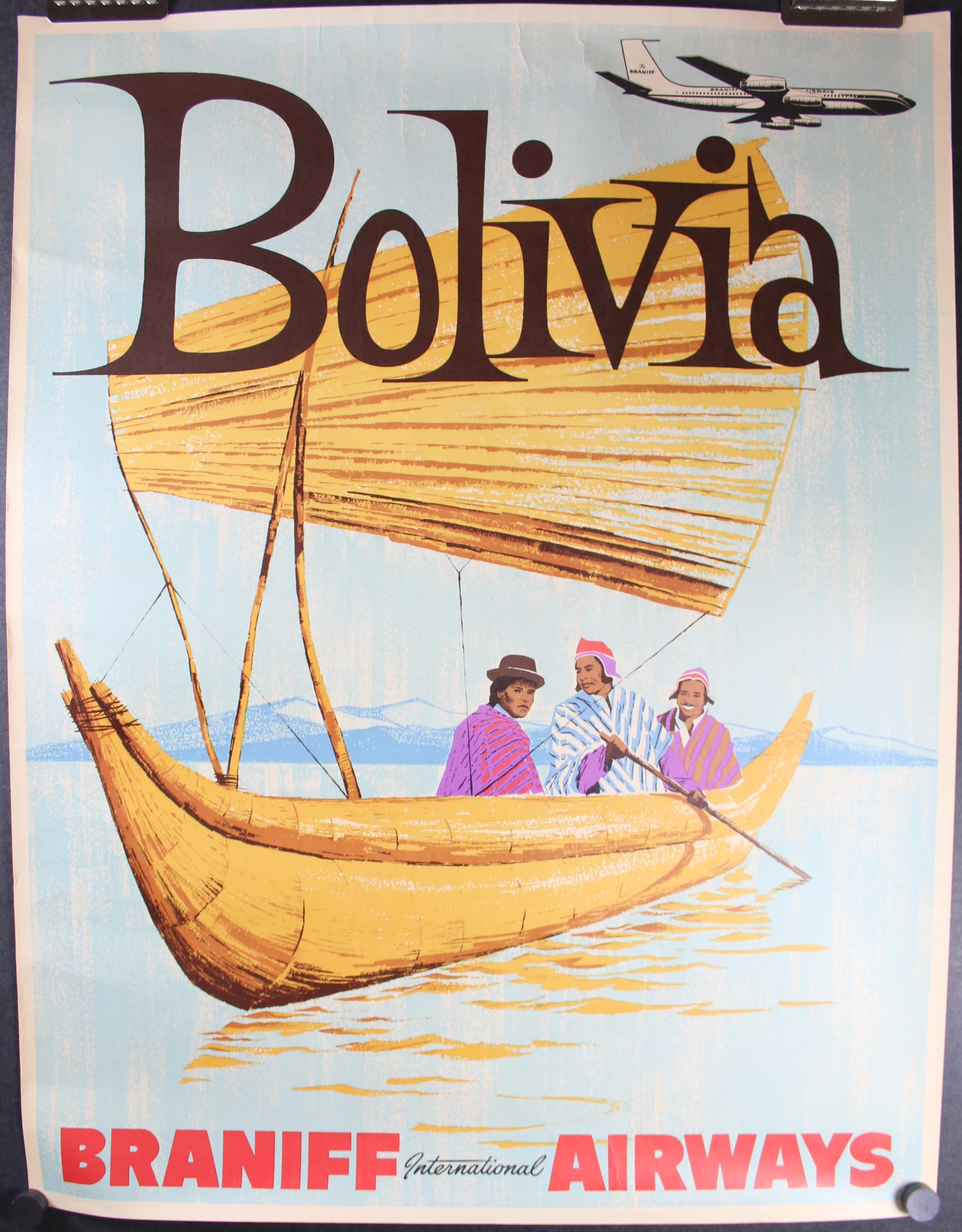 Braniff Airways Bolivia 4754