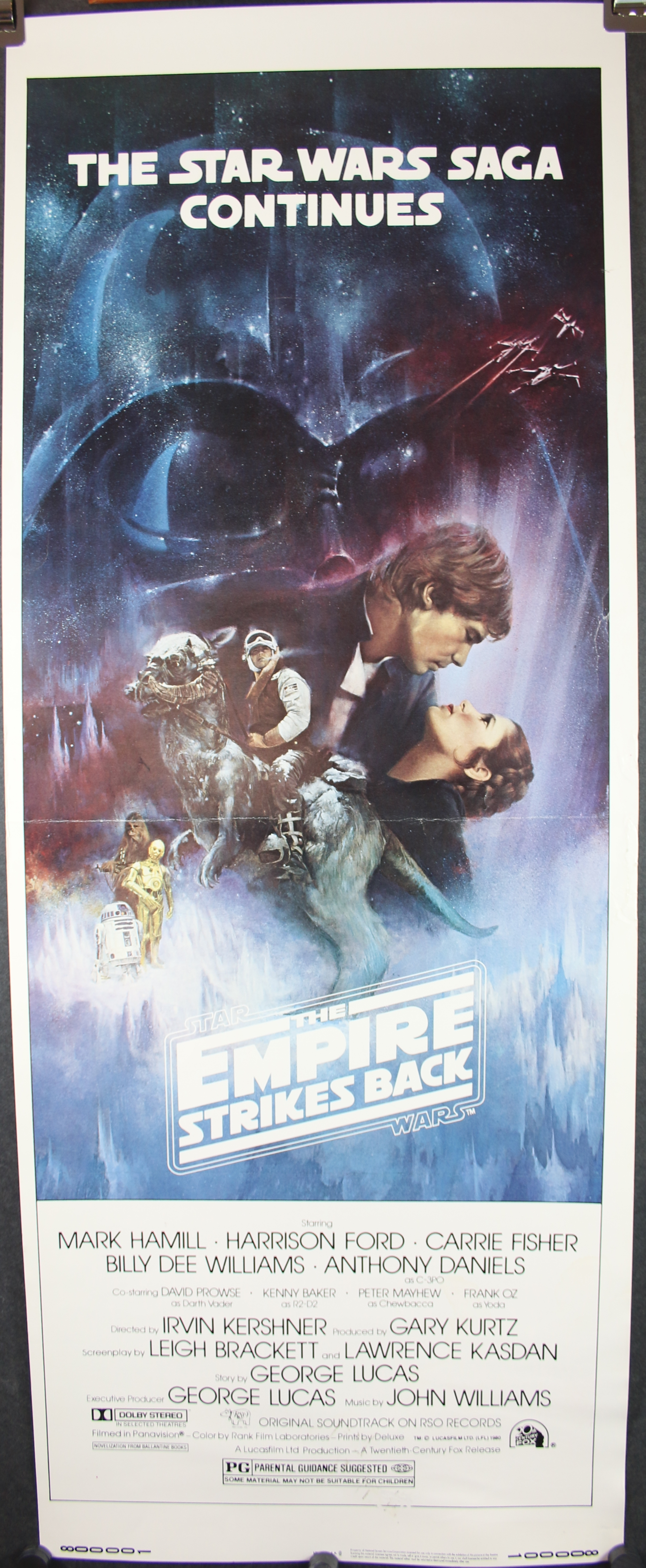 the empire strikes back original rolled nss with pg