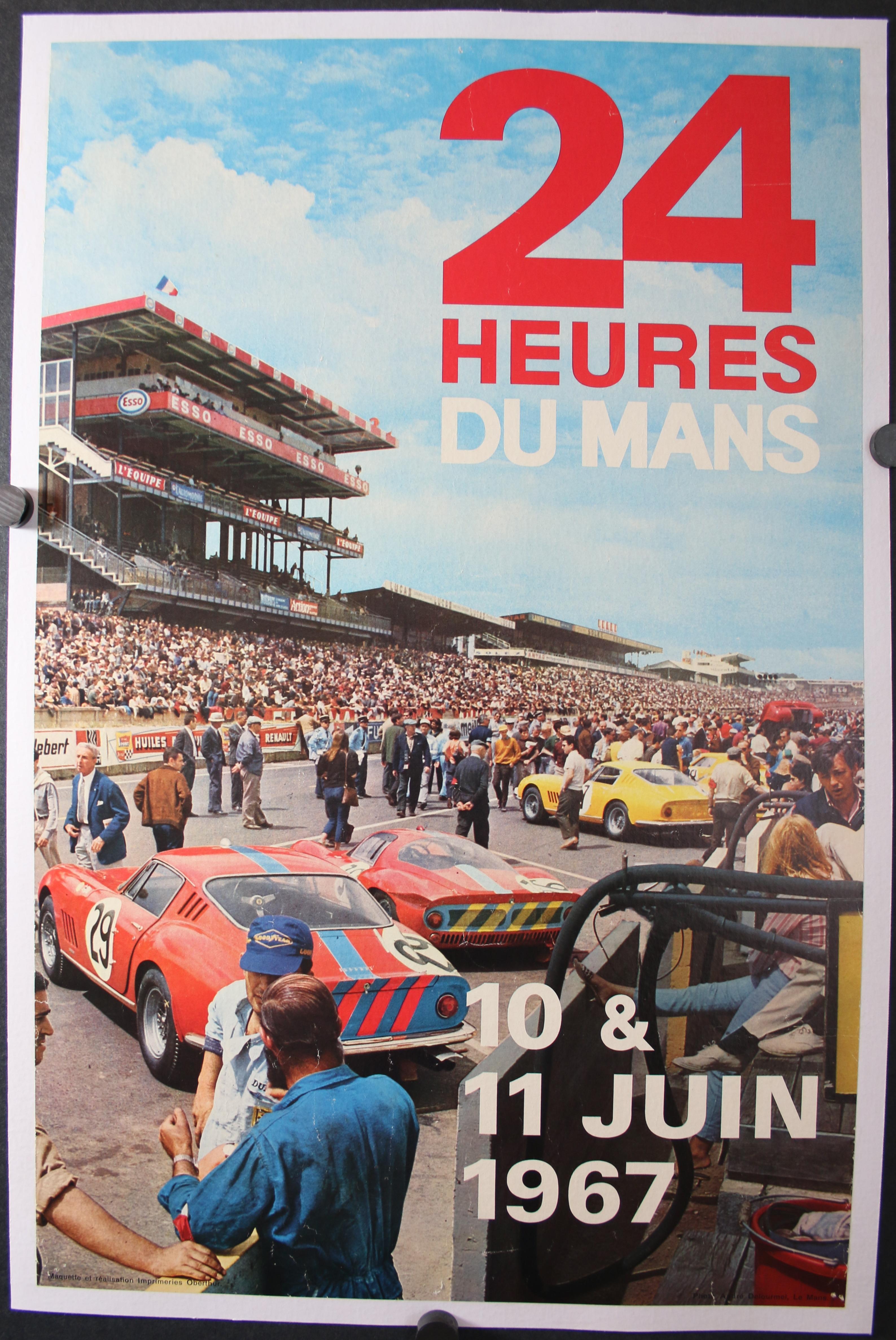 24 HEURES DU MANS 1967 4551LB
