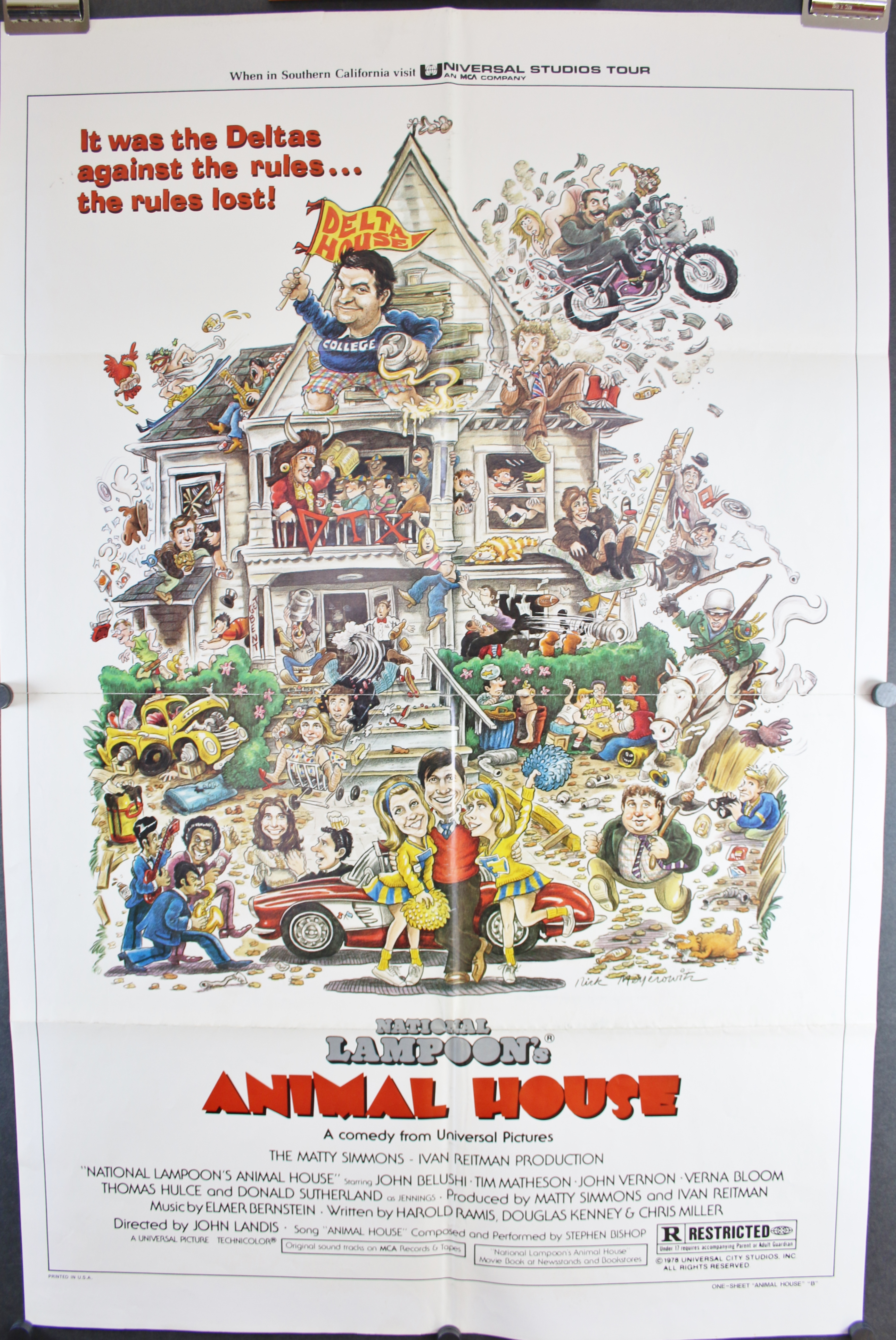 Animal house poster the image kid has it for Classic jungle house for small animals