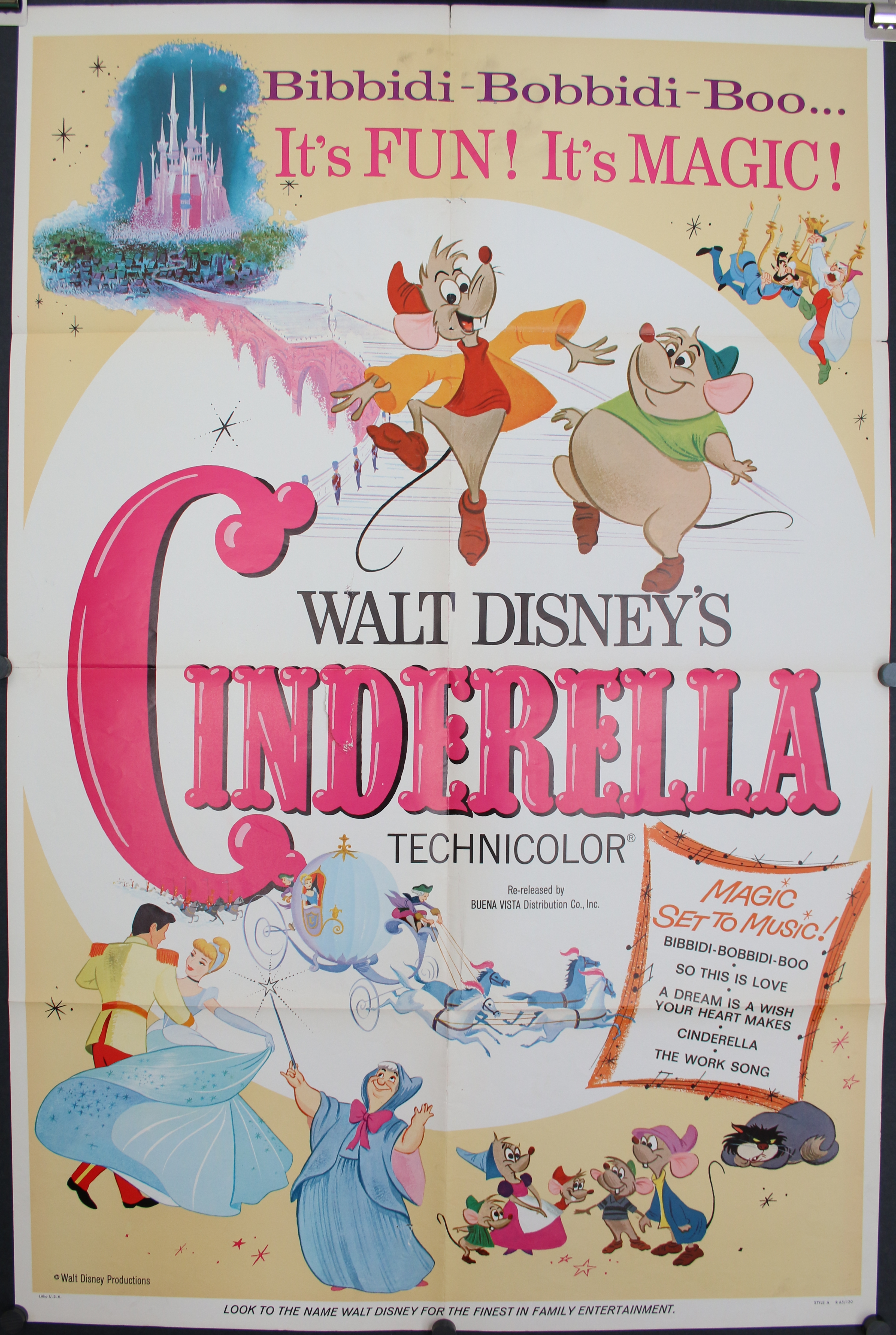 CINDERELLA, Original V...