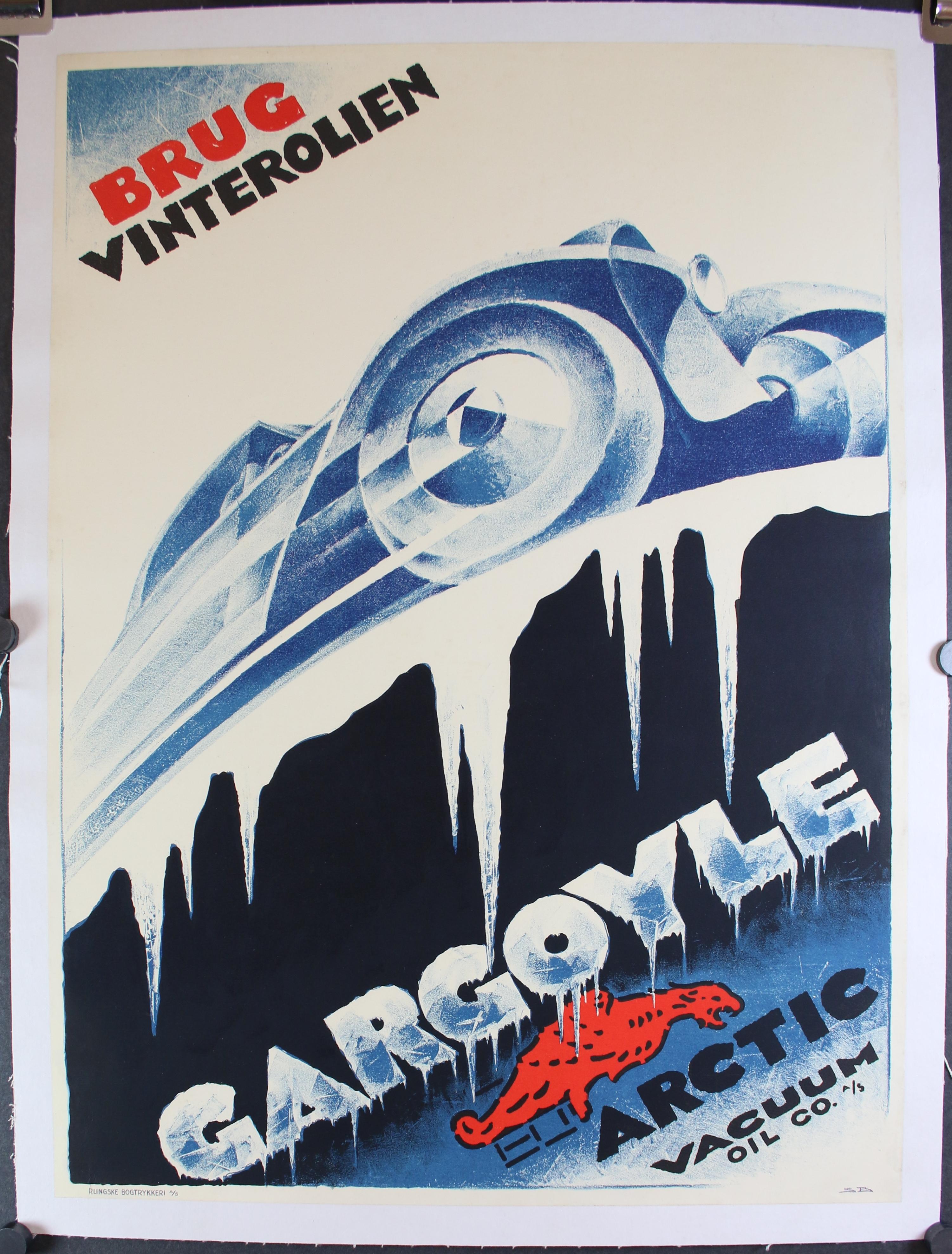 Gargoyle Arctic Vacuum Oil Co 4593LB