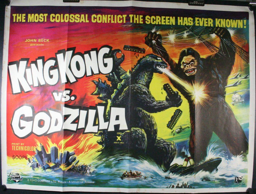 king kong v Godzilla