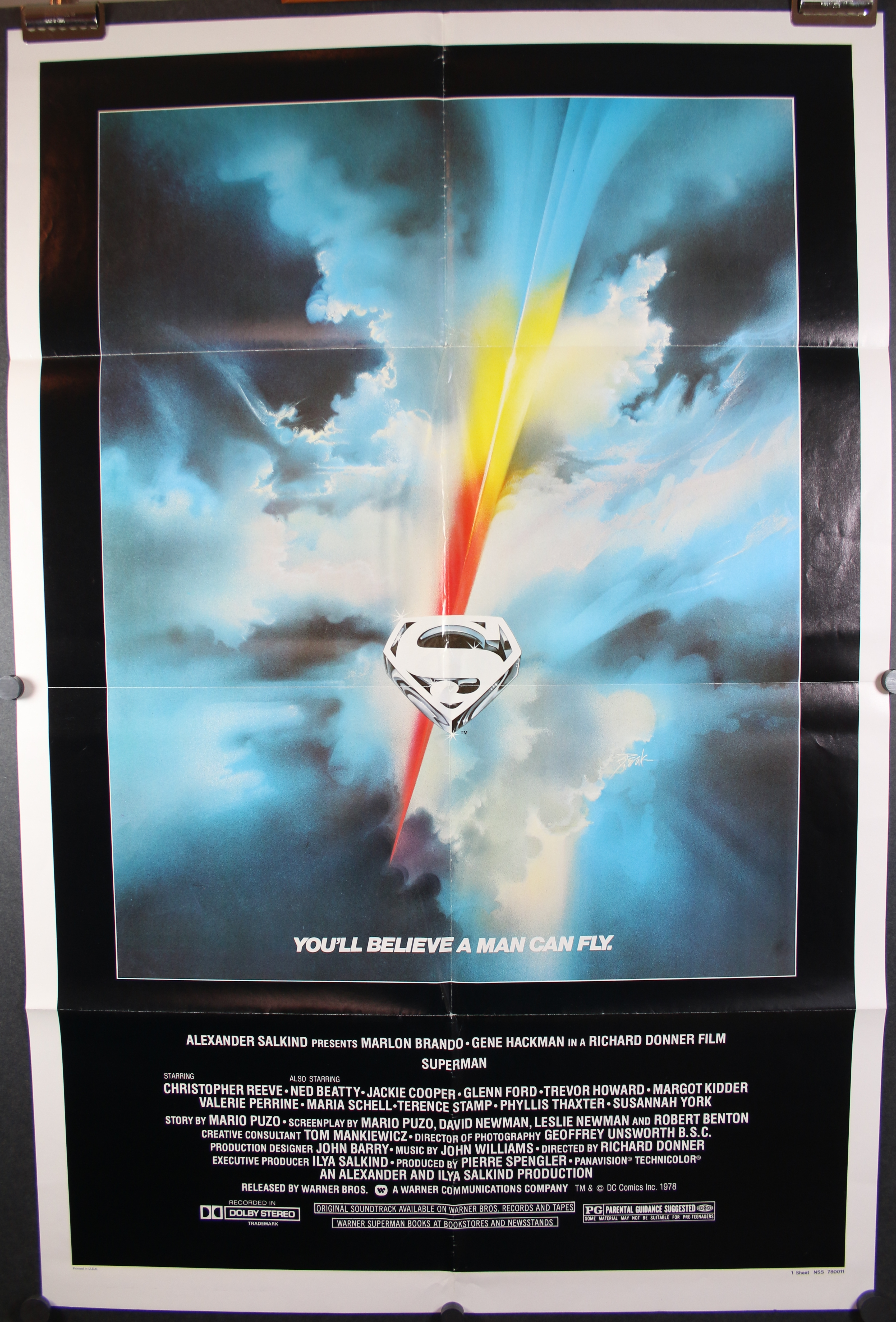 Superman 1948 Movie Classic Sci-Fi Poster 14x21 27x40 32x48 Art Custom T-297