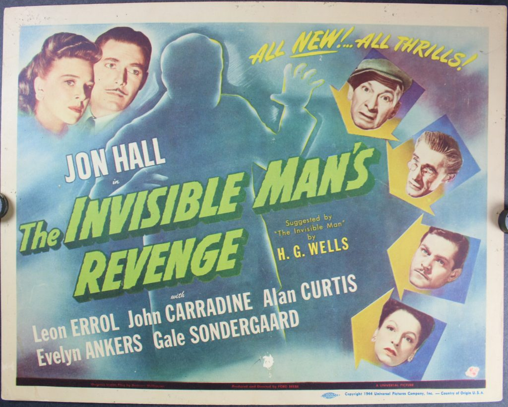 Invisible Man's Revenge