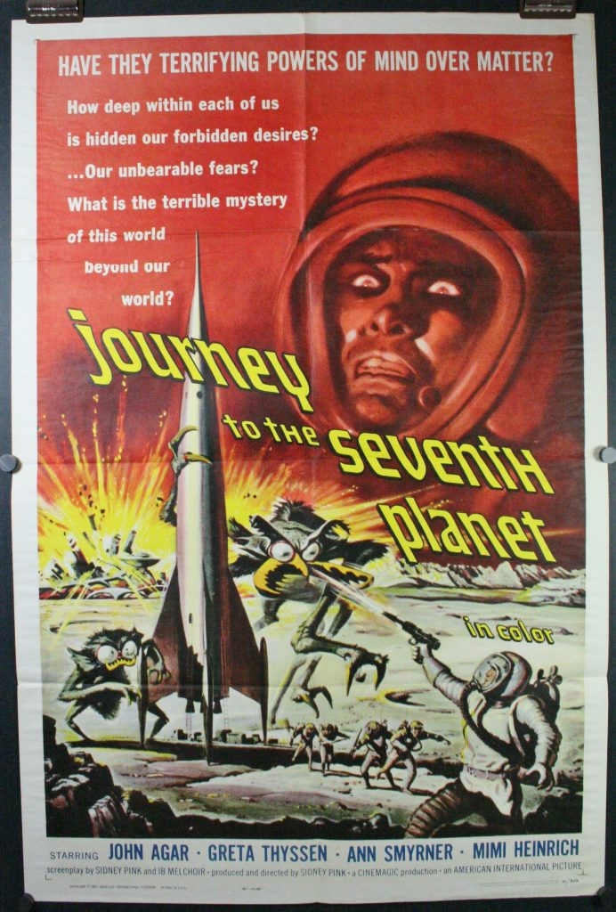 Journey to seventh planet