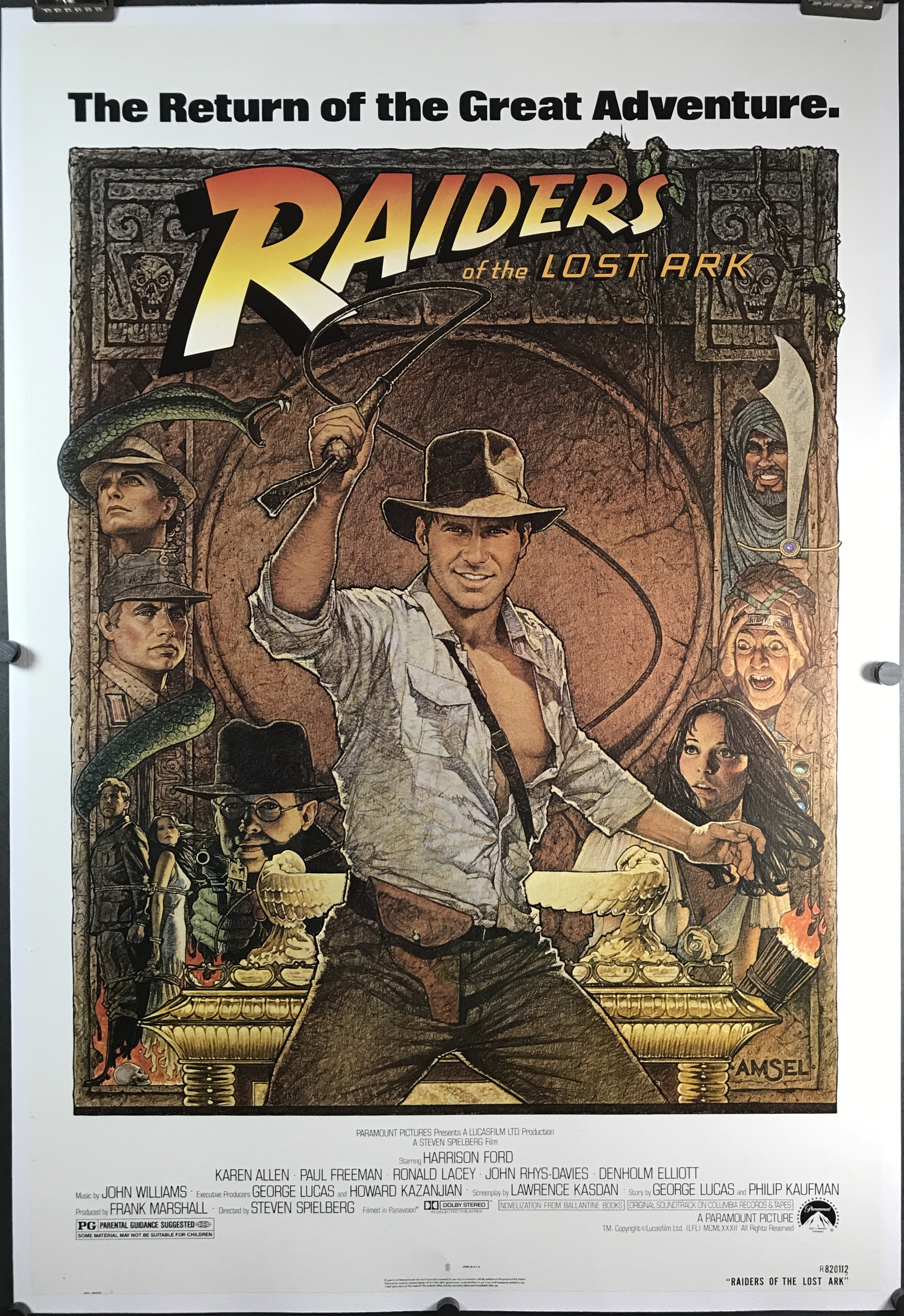 indiana jones raiders of the lost ark essay Why have recent re-releases of raiders of the lost ark been retitled indiana jones and the raiders of the lost ark  in the raiders of lost ark as told by.