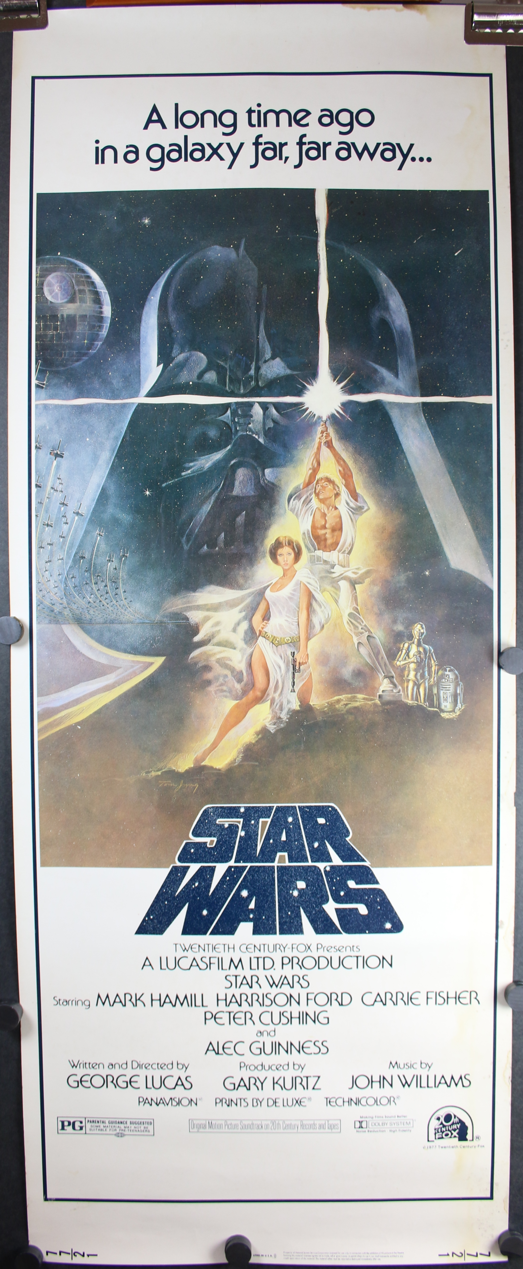 STAR WARS, Style A Insert Original Authenticated Movie ...