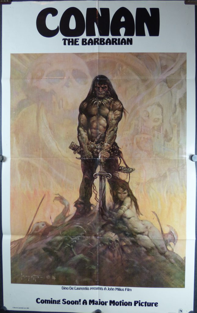 Conan the Barbarian - Frazetta