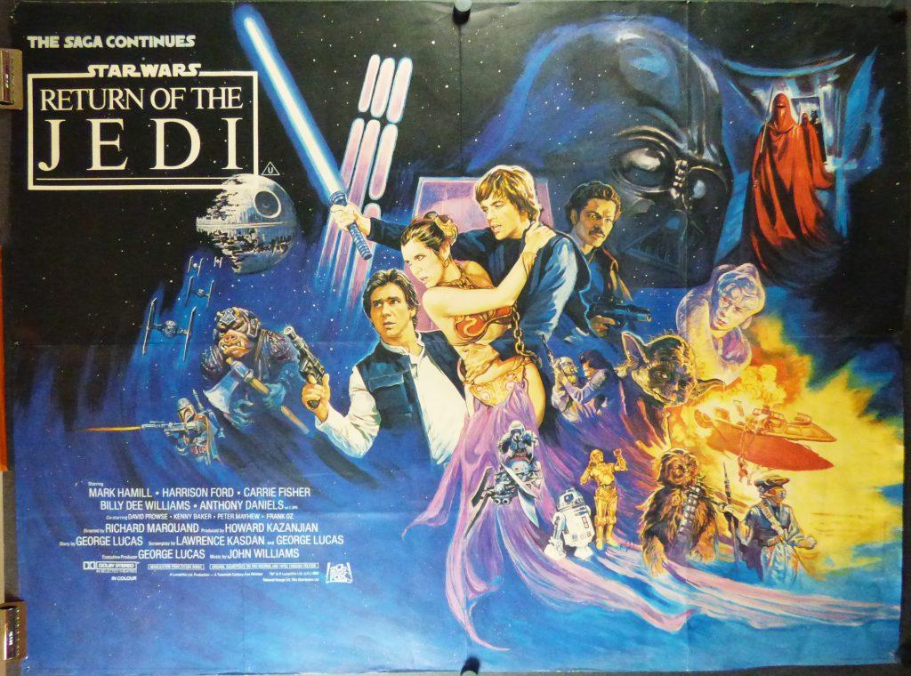 Return of the Jedi Quad