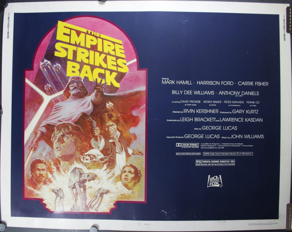 Empire Strikes Back 82 release