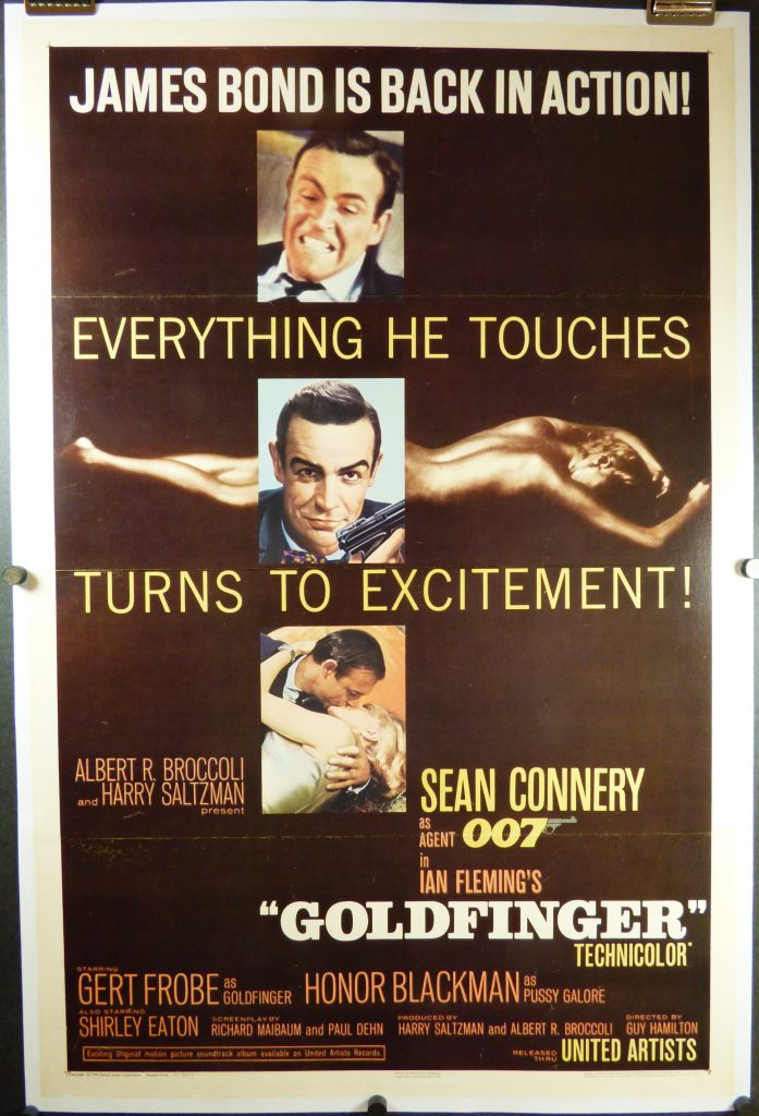 Gold Finger 1964 release