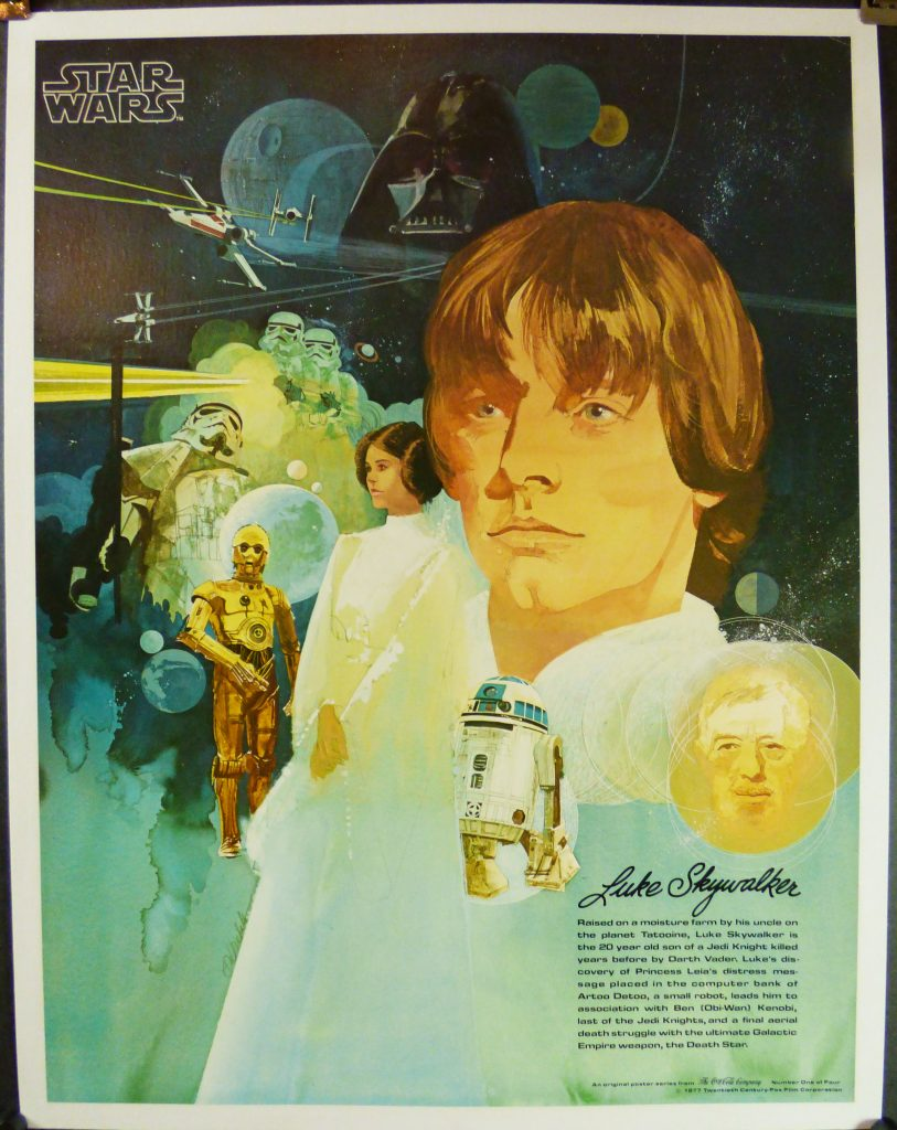 Star Wars Coca Cola Luke