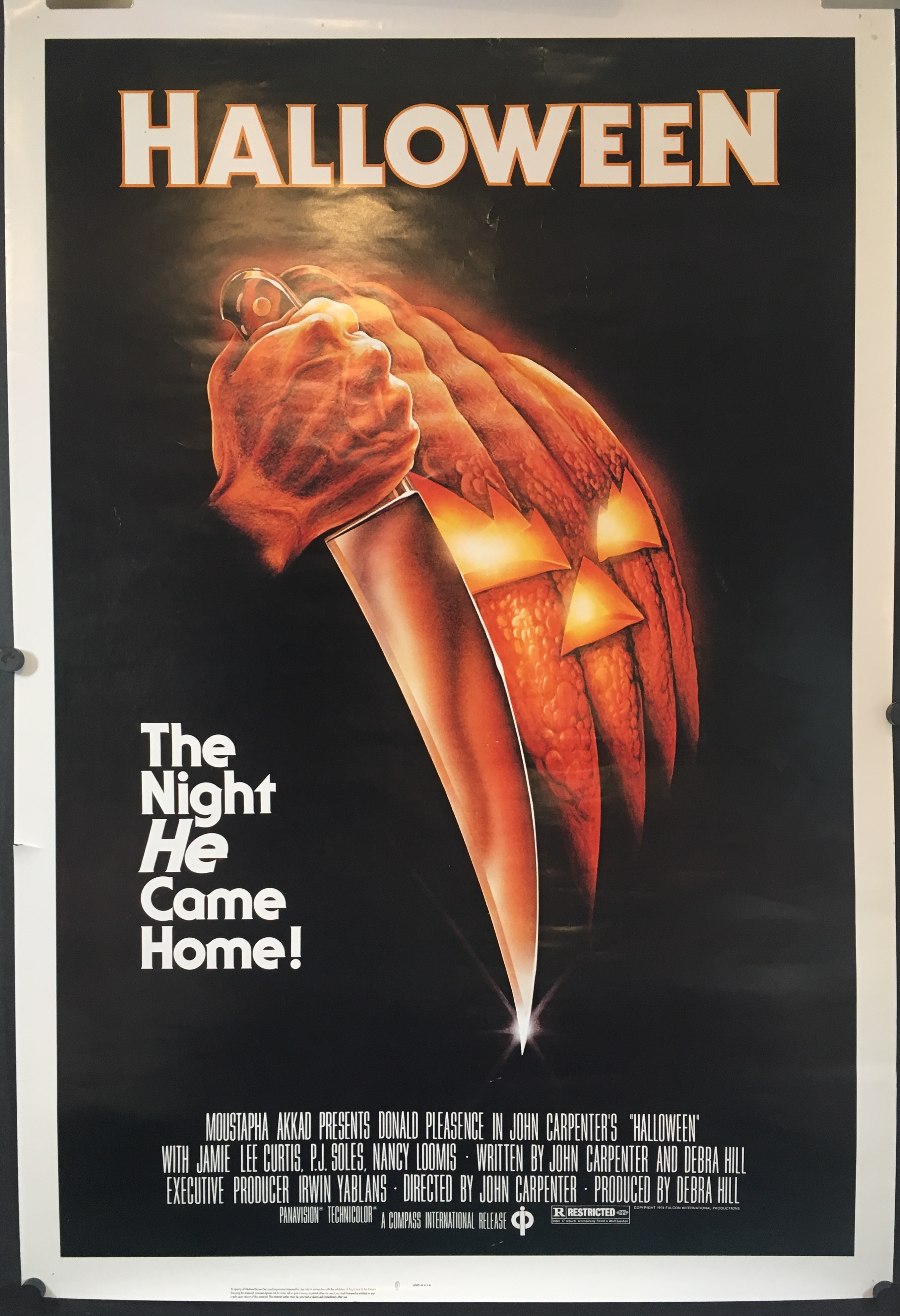 Halloween 1978 Movie Poster.Halloween Original Movie Theater Cinema Black Ratings