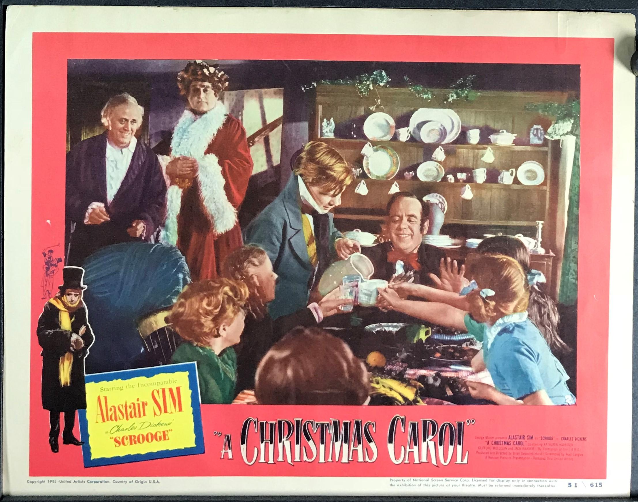 Original Christmas Carol Movie.A Christmas Carol Original Vintage Charles Dickens Movie