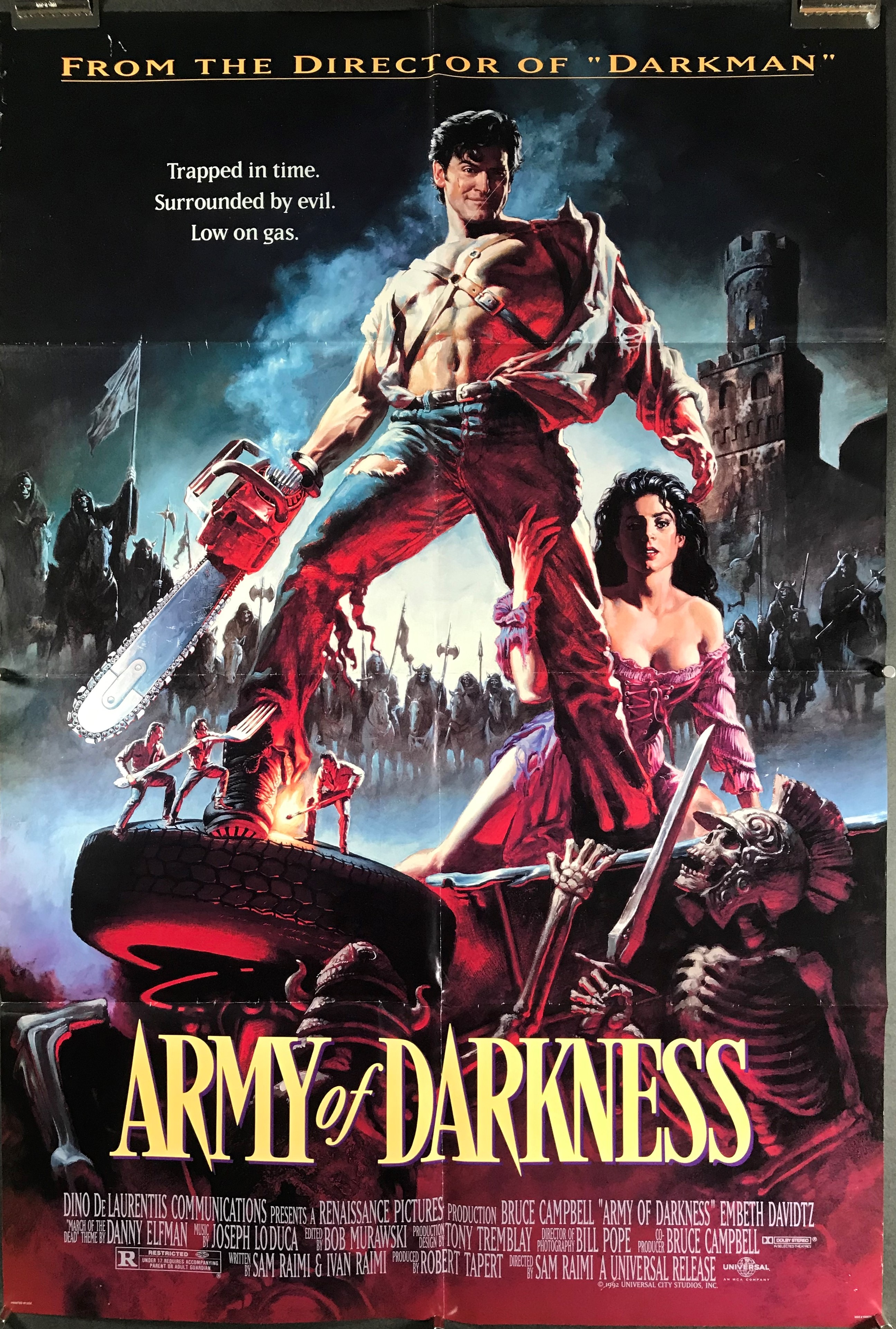 Image result for army of darkness poster