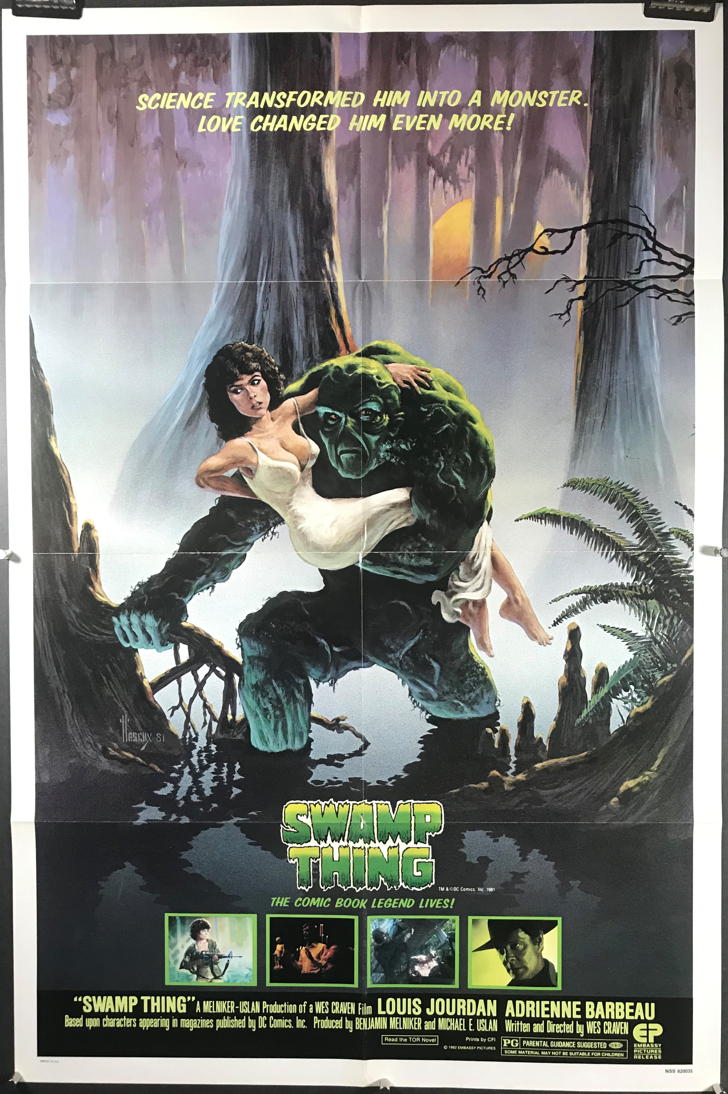 movie thing poster swamp craven wes posters